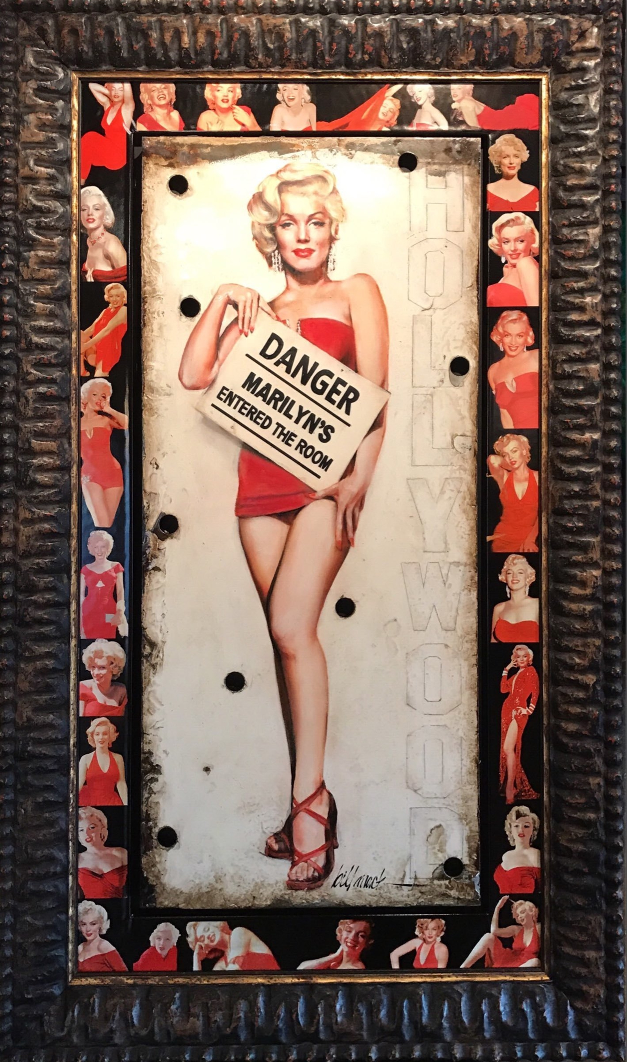 Danger Marilyn by Bill Mack Hollywood Sign