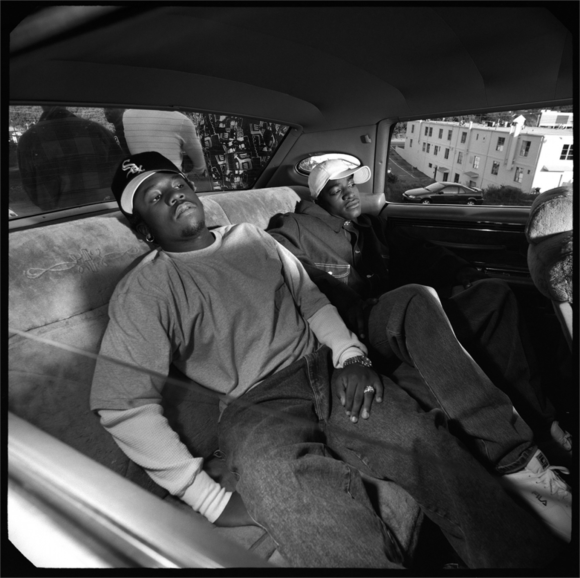 93125 Outkast In the Car BW by Timothy White