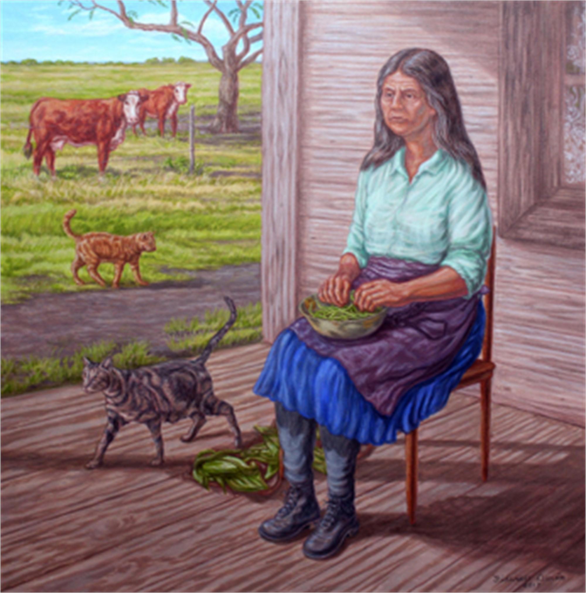 Tenant Farmer by Fidencio Duran