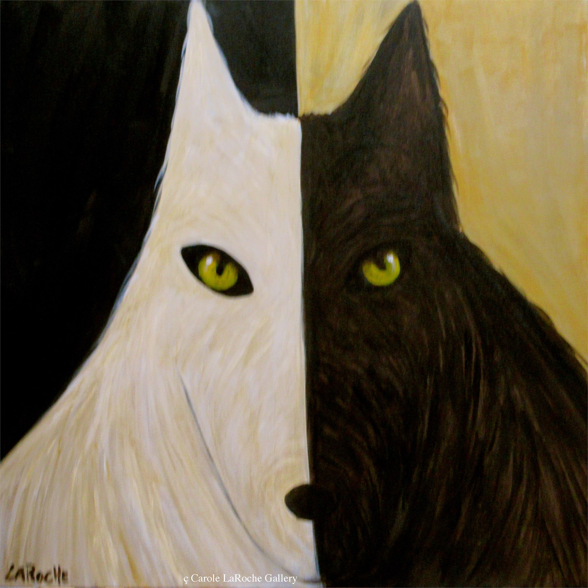 SHADOW WOLF by Carole LaRoche