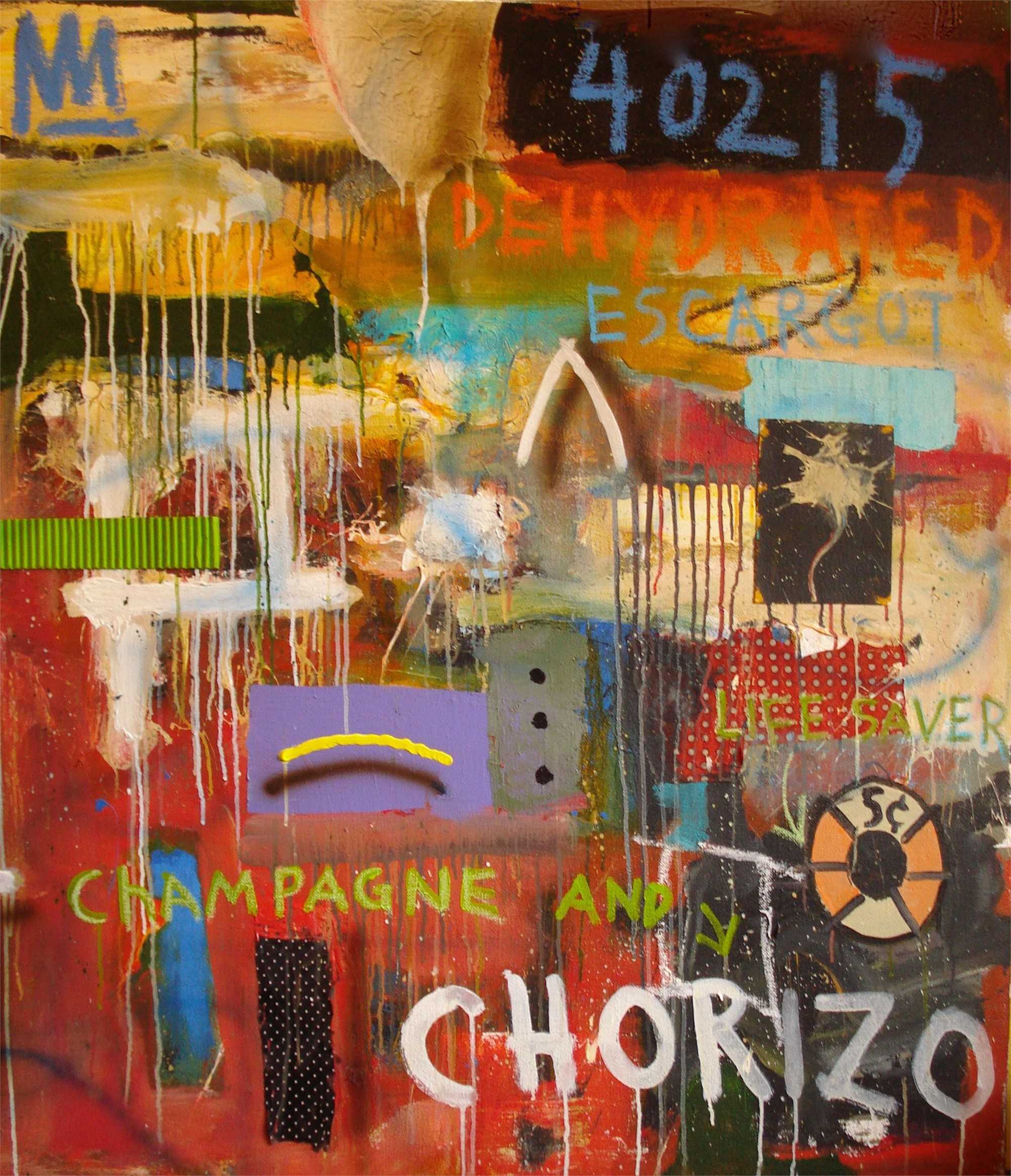Champagne and Chorizo by Michael Snodgrass