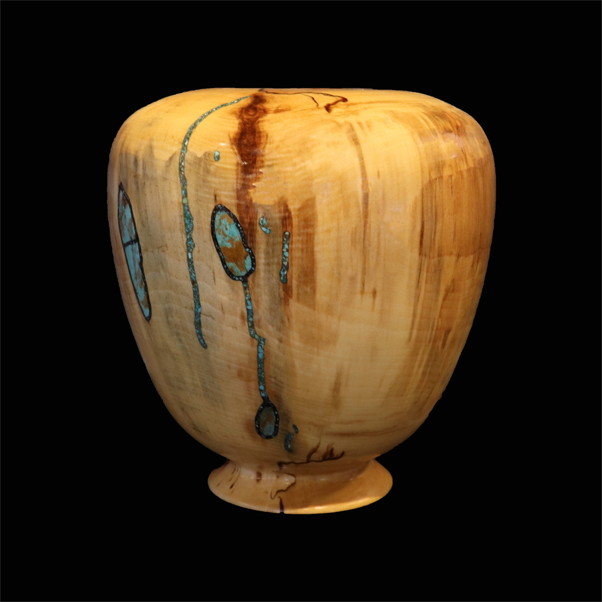 Spalted Aspen-1860 by Jimmy Cook