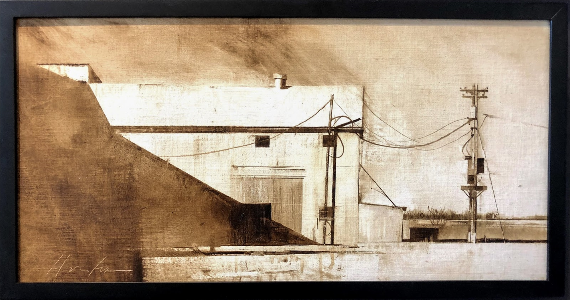 Cotton Gin, Wall Texas by Charlie Hunter