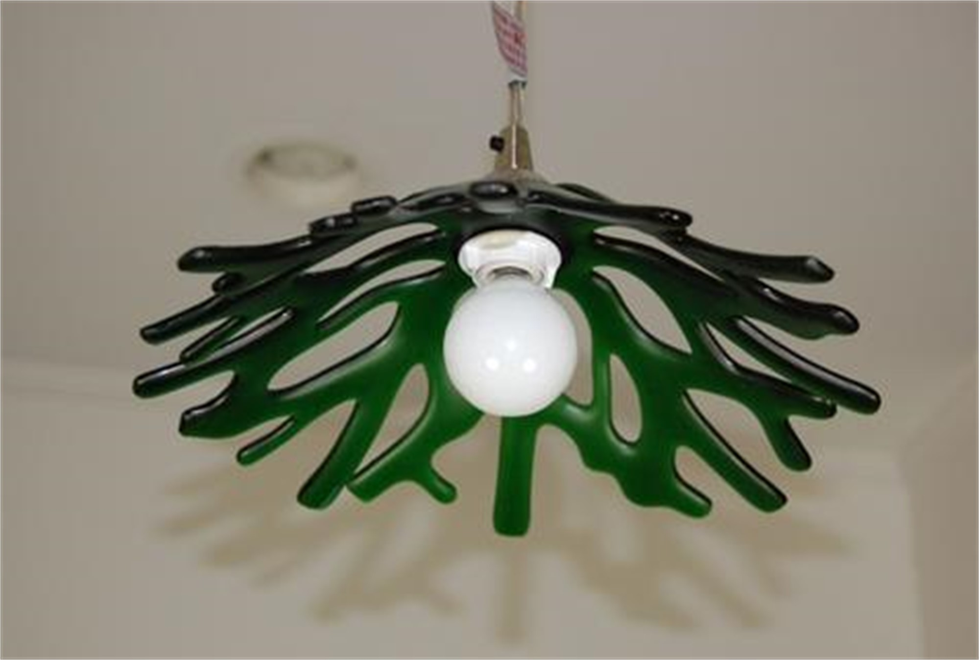 Sea Glass Pendant Light by Greg Rawls
