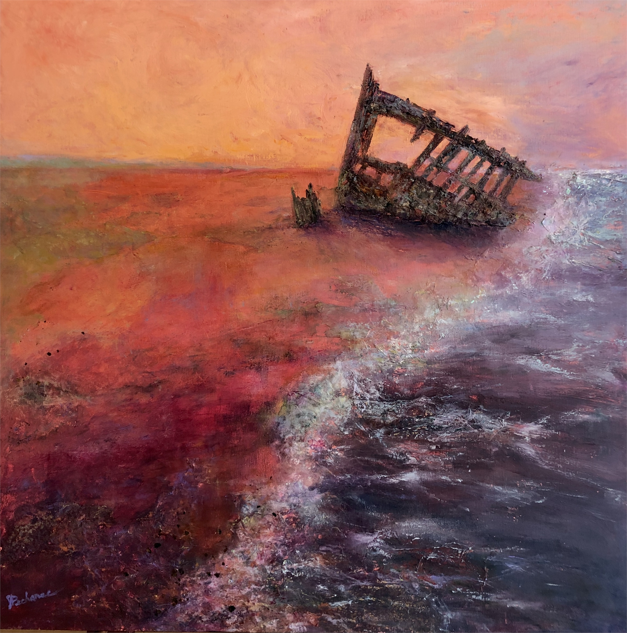 Shipwrecked by Joan Pechanec (McMinnville, OR)