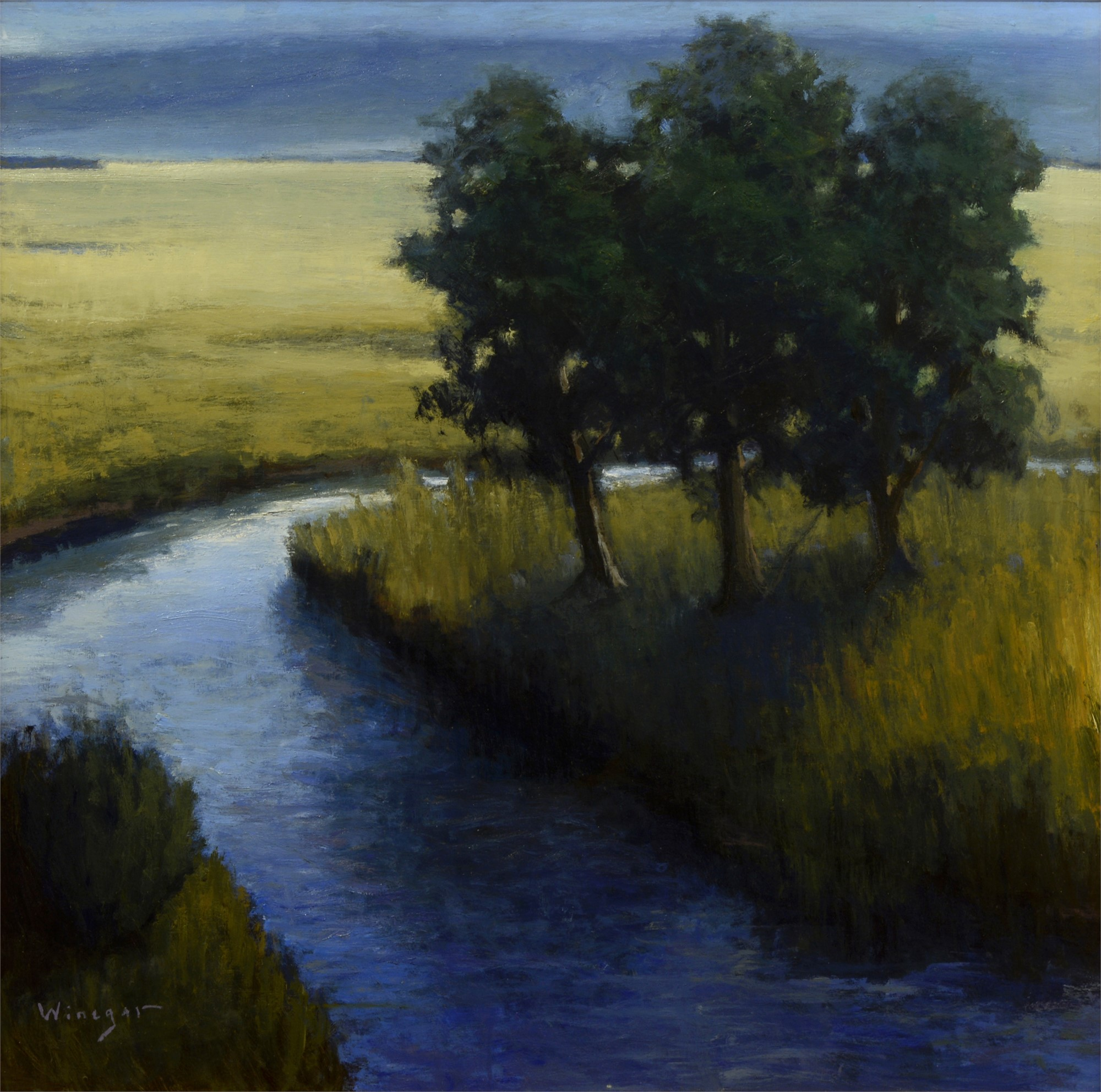 Three Trees by Seth Winegar