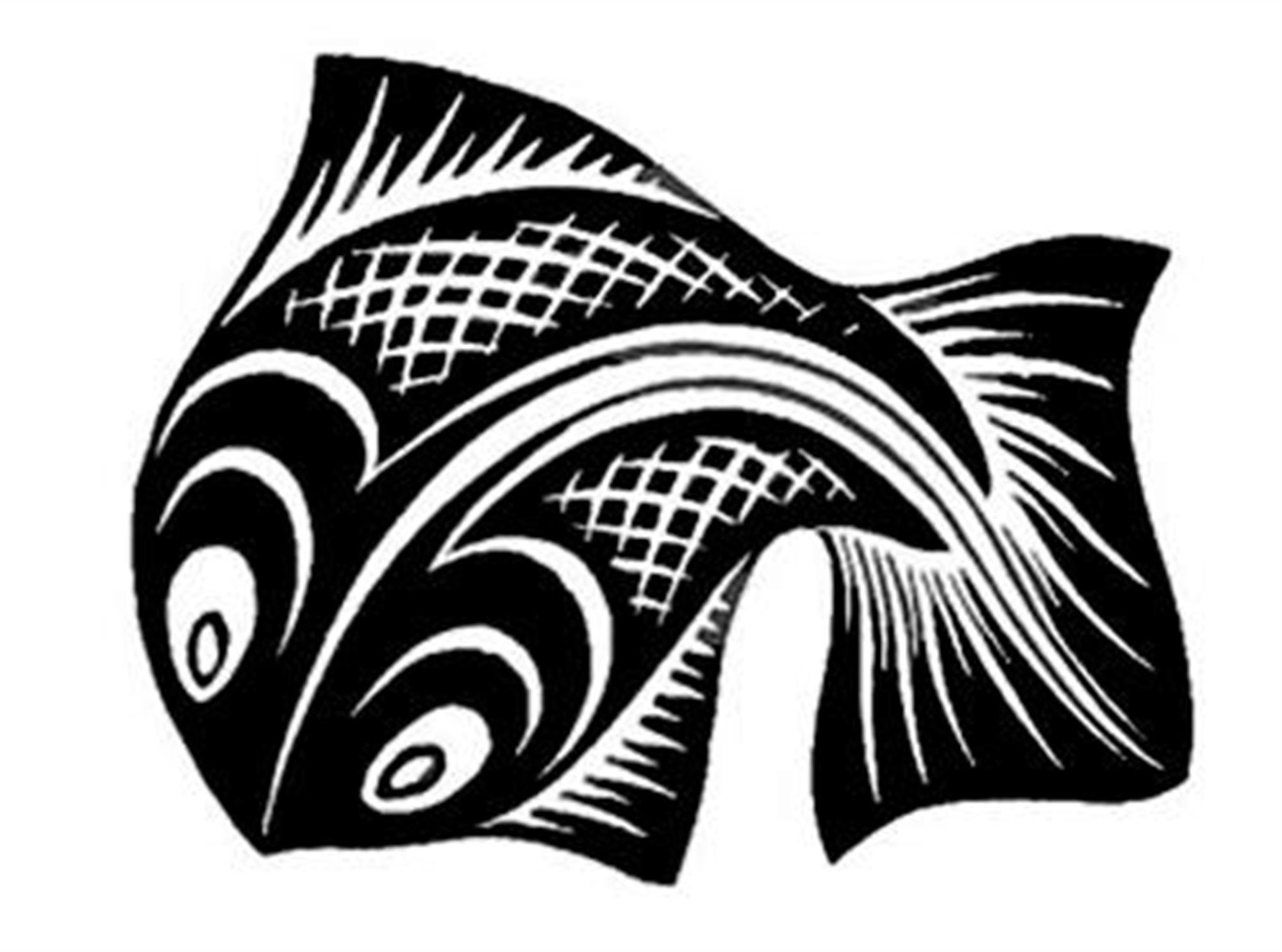 Fish by M.C. Escher