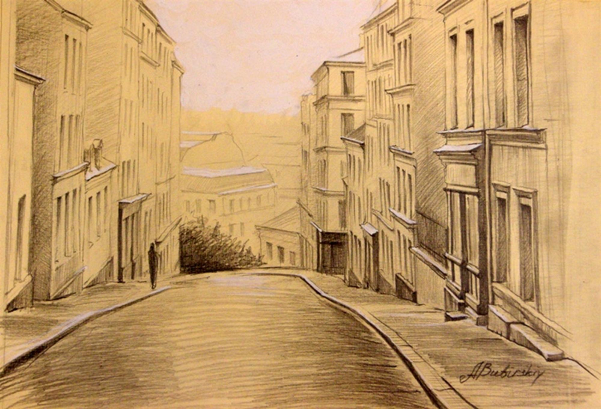 Crest of Montmartre by Alexei Butirskiy