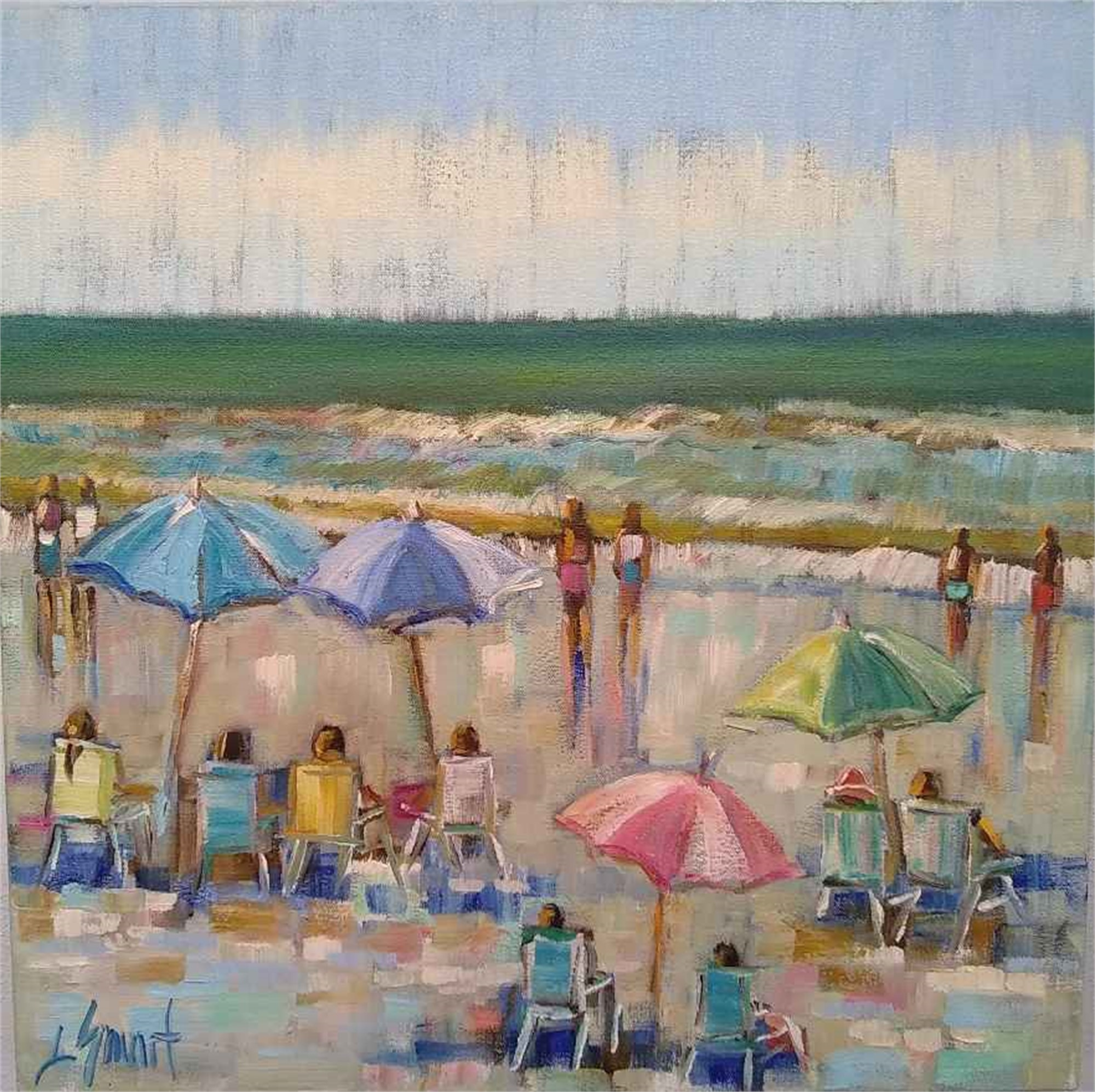 Beach Day by Libby Smart