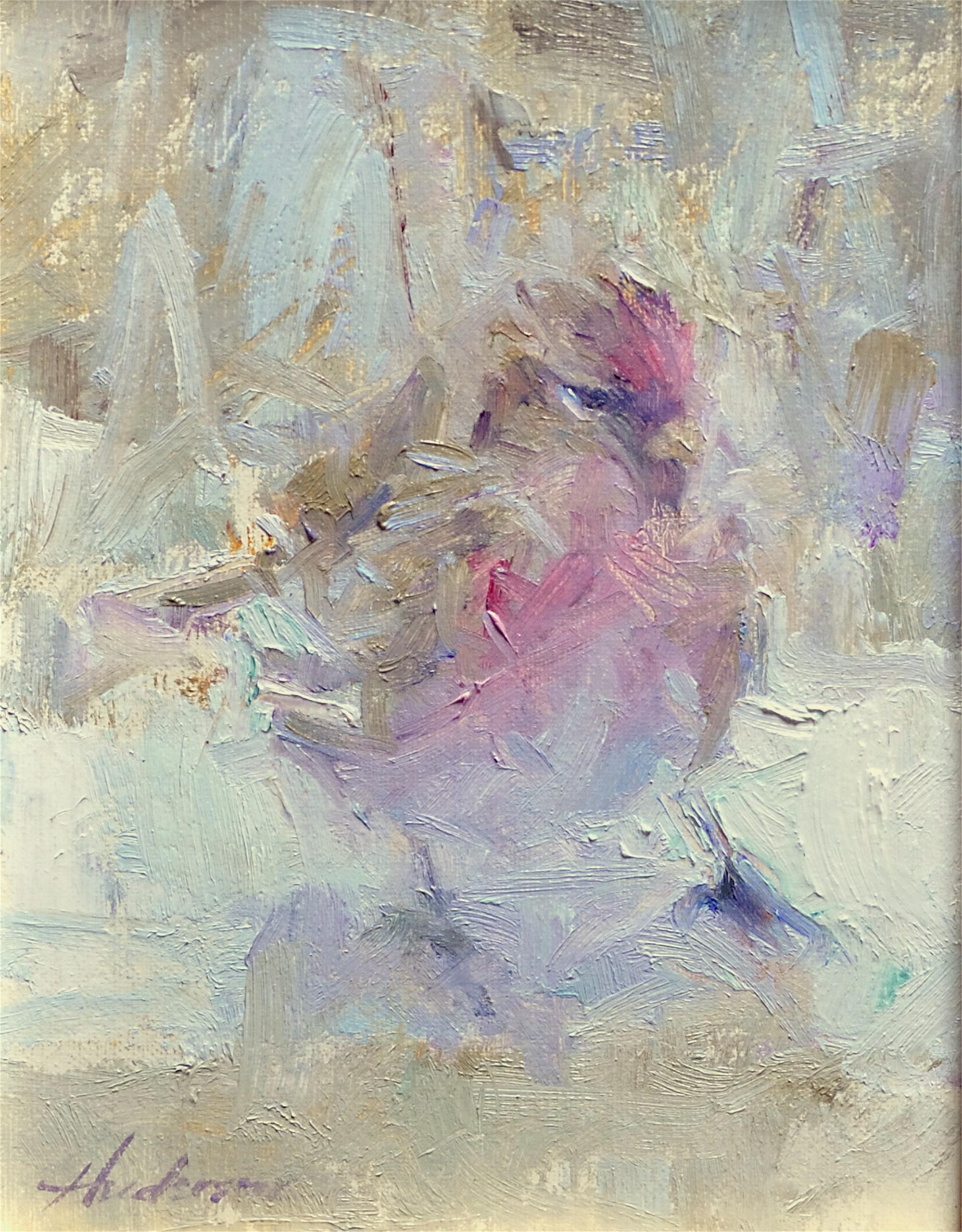 Finch in Winter by Carolyn Anderson
