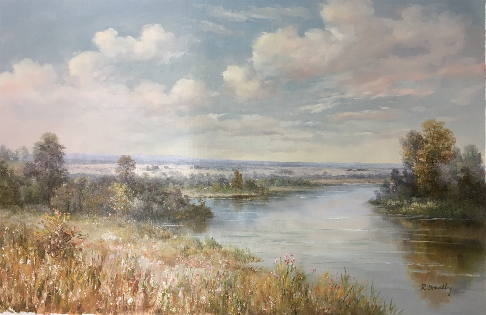 RIVERBEND IN THE VALLEY by R BRADLEY