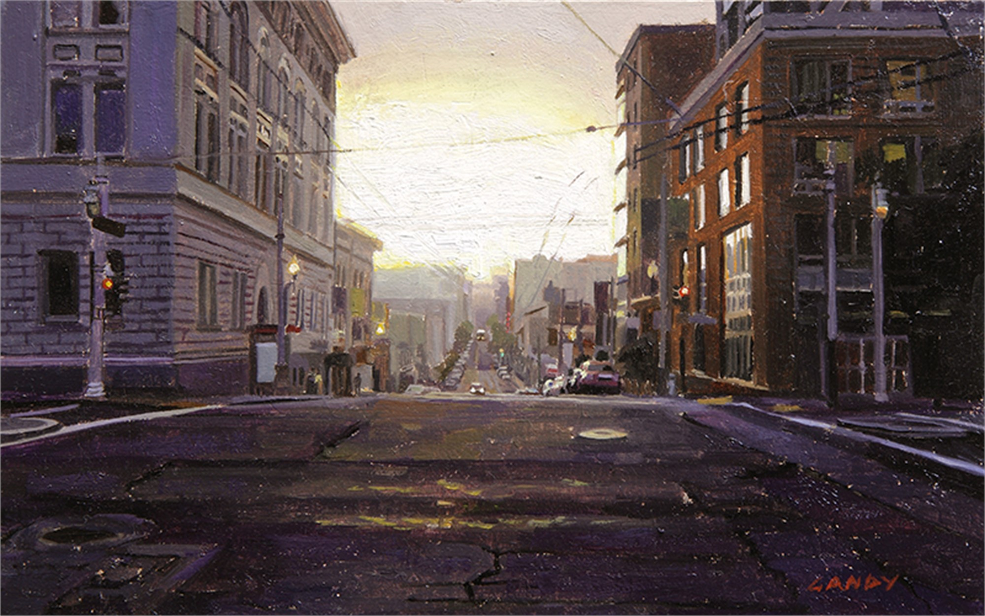Sunrise on Ost and Van Ness by Greg Gandy