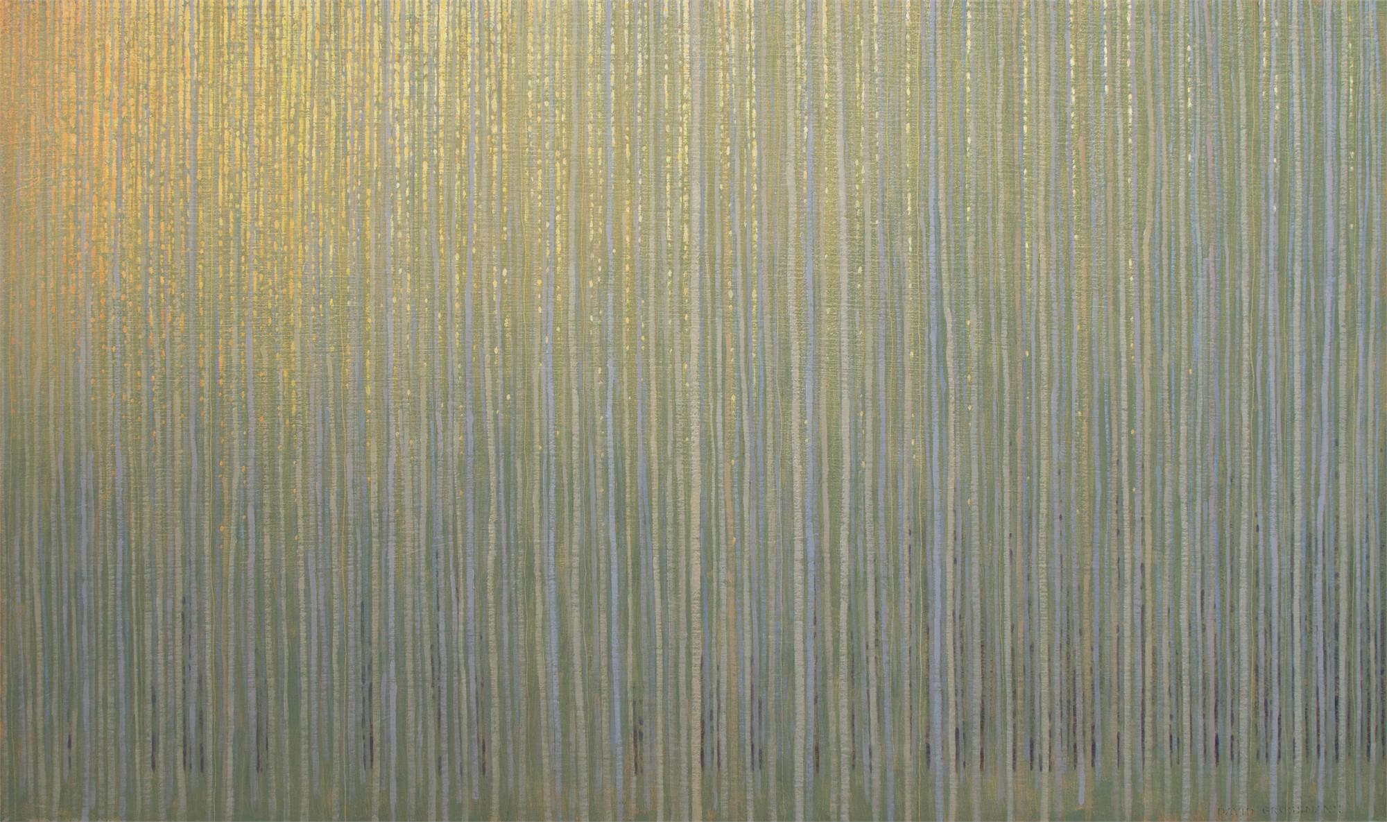 Summer Forest Dusk by David Grossmann