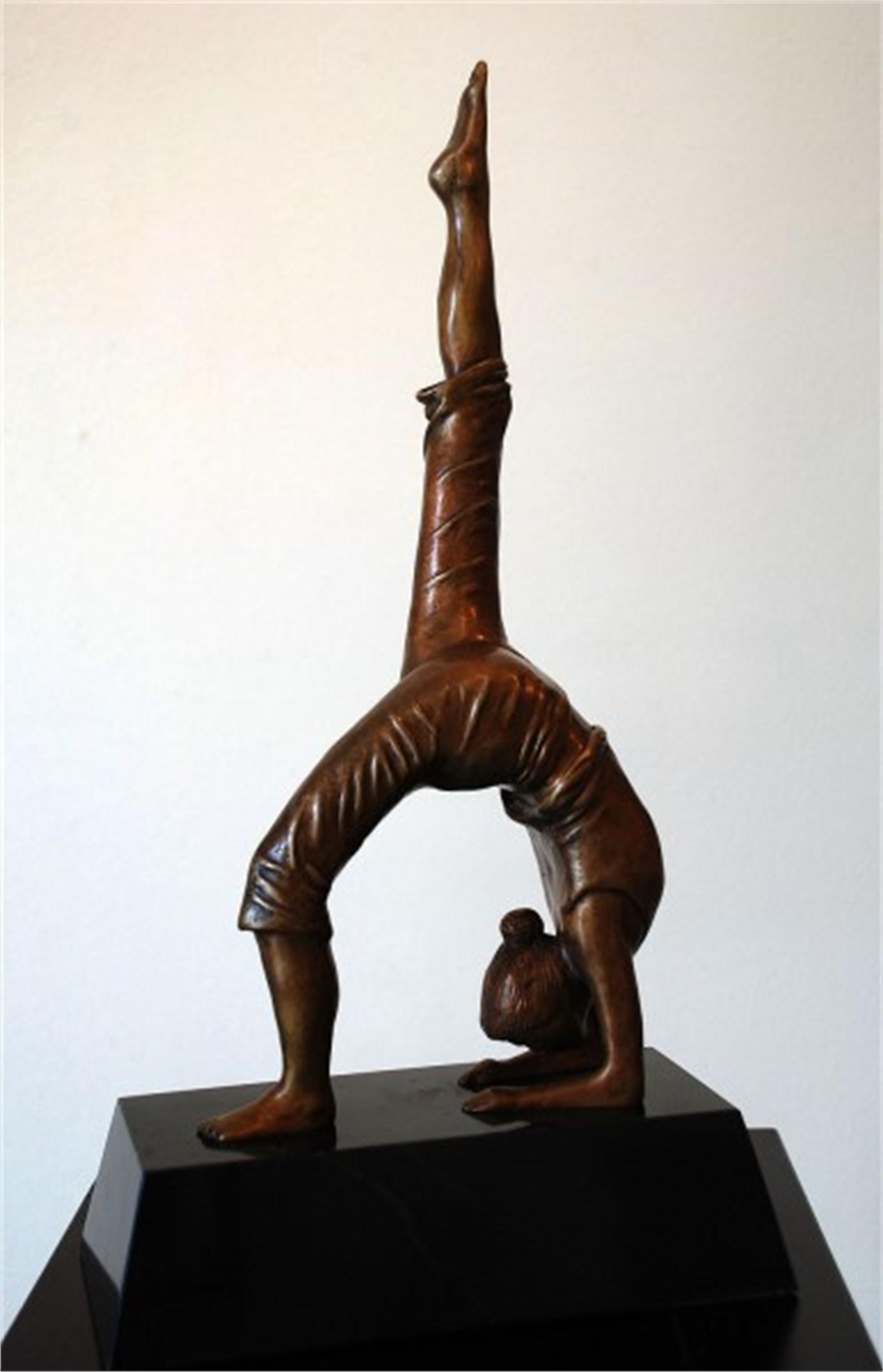Dandasana by Joe Incrapera