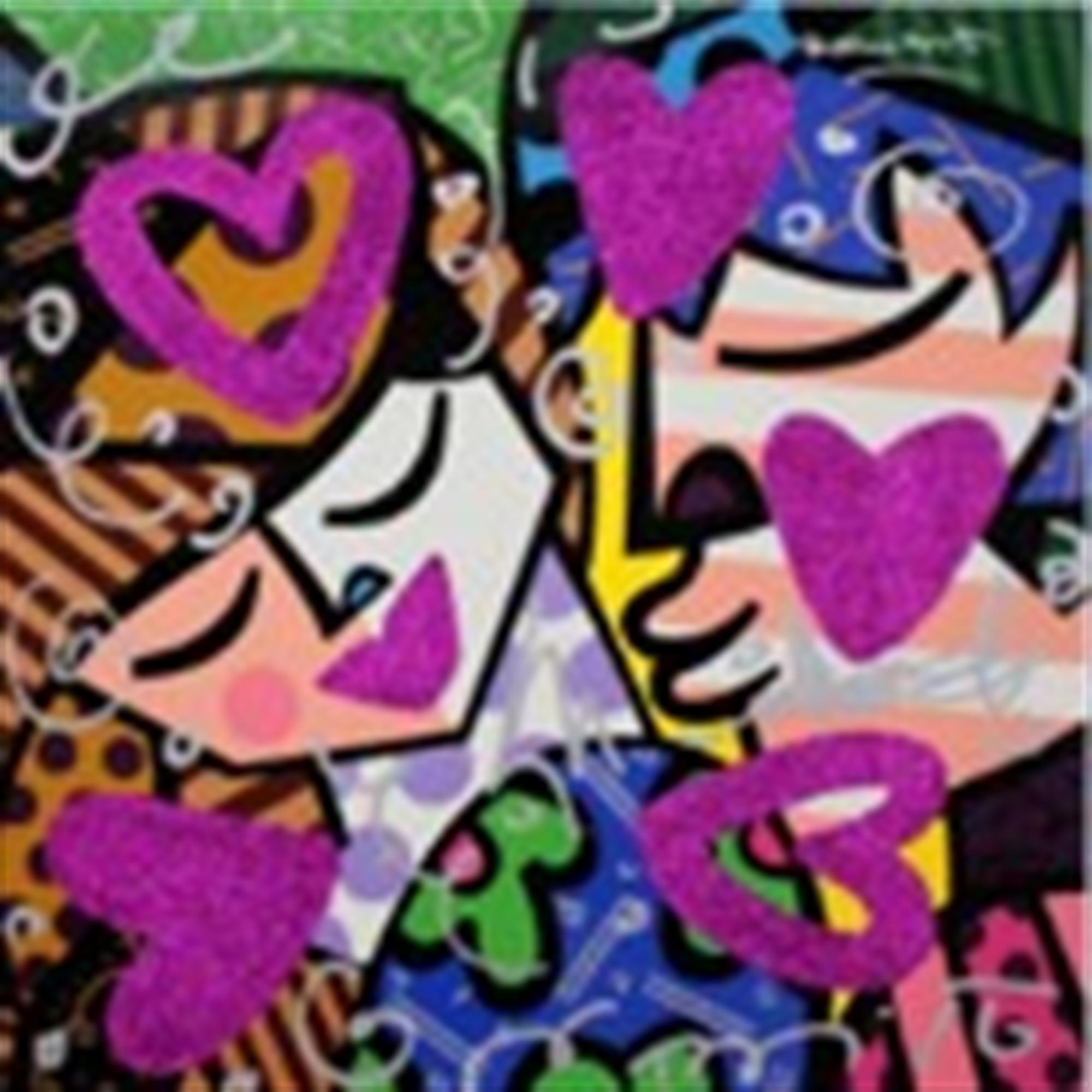 PINK LOVE by Romero Britto