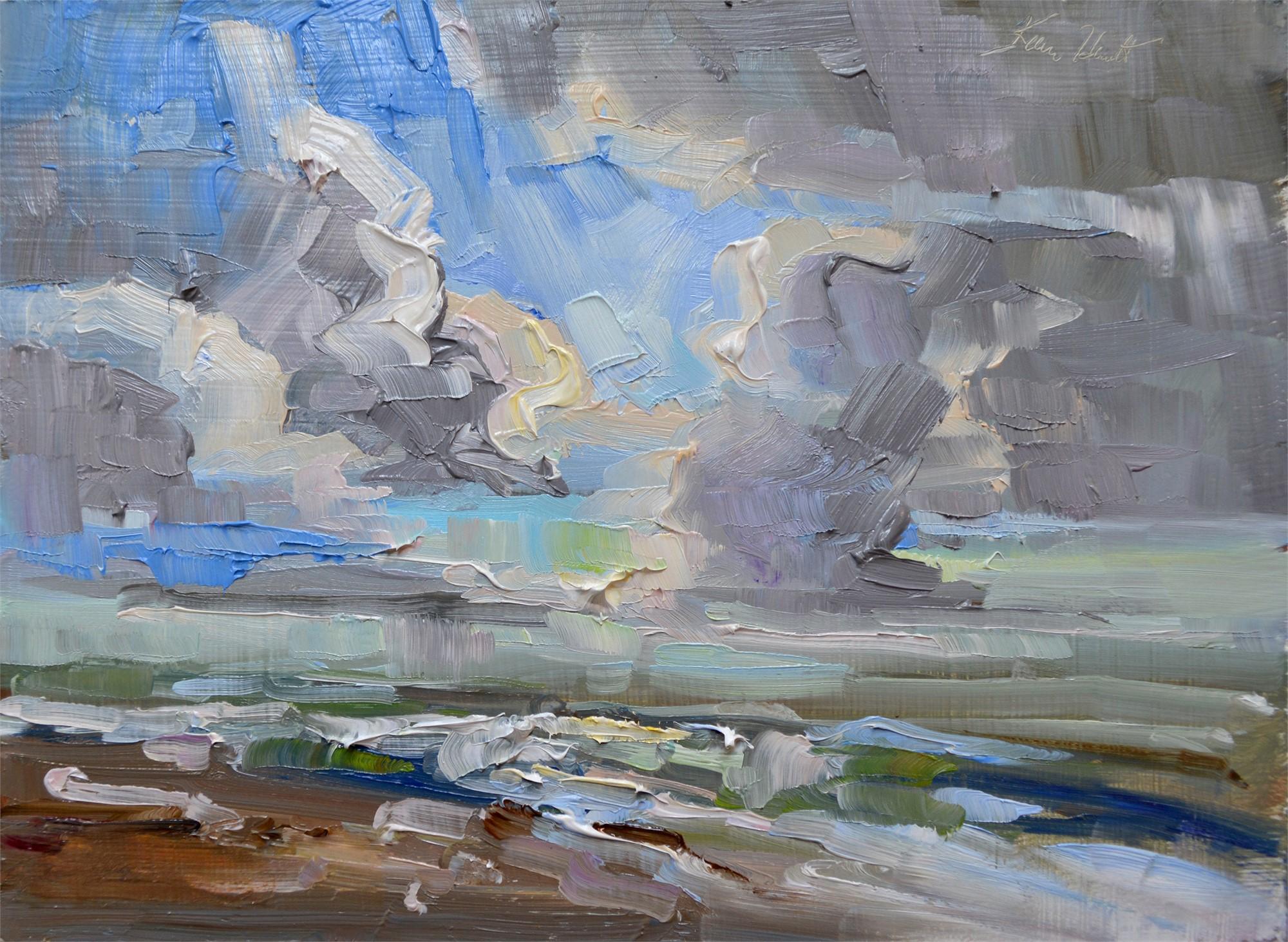 Edisto Clouds in October by Karen Hewitt Hagan