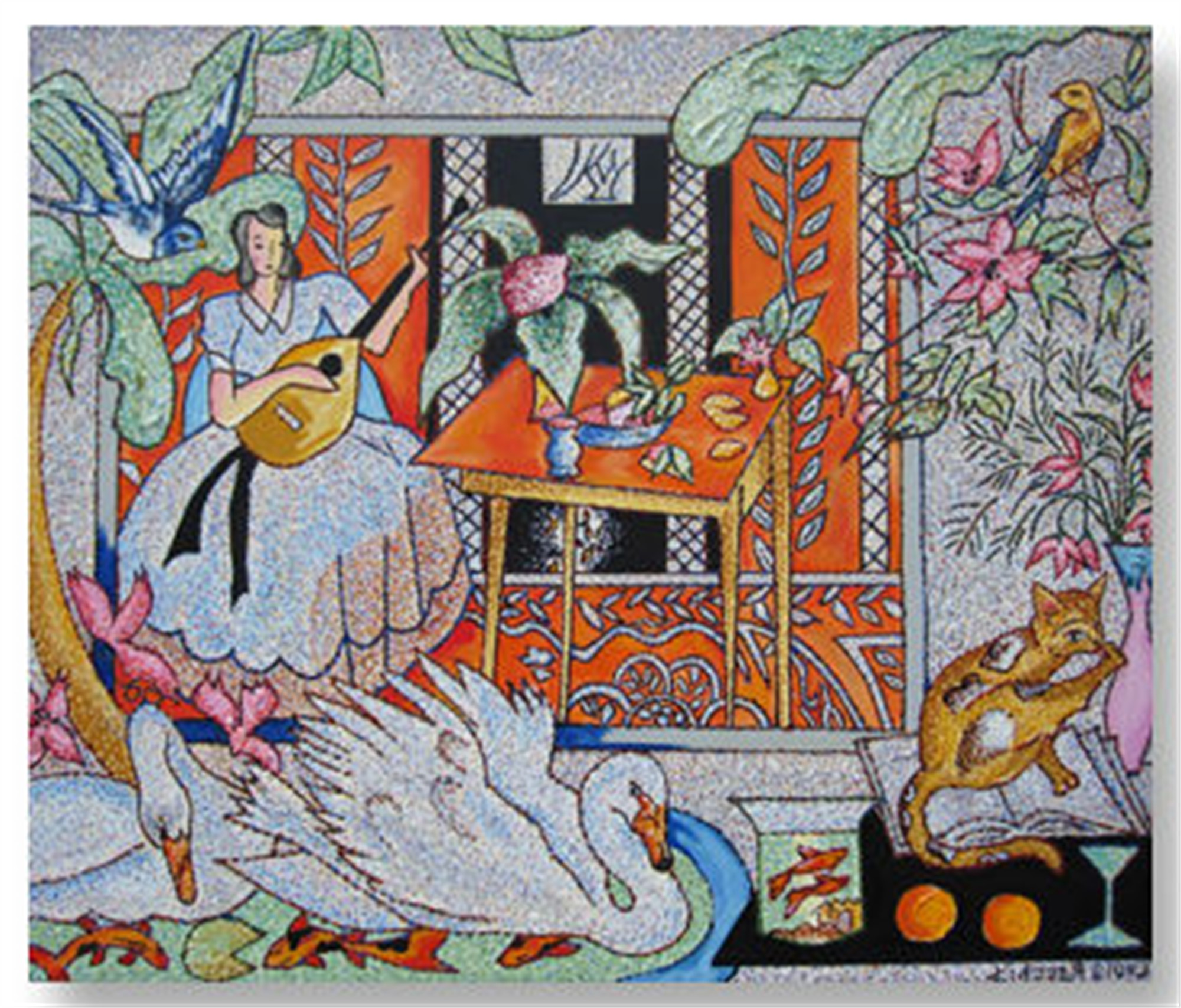 Interior with Matisse by Louis Recchia