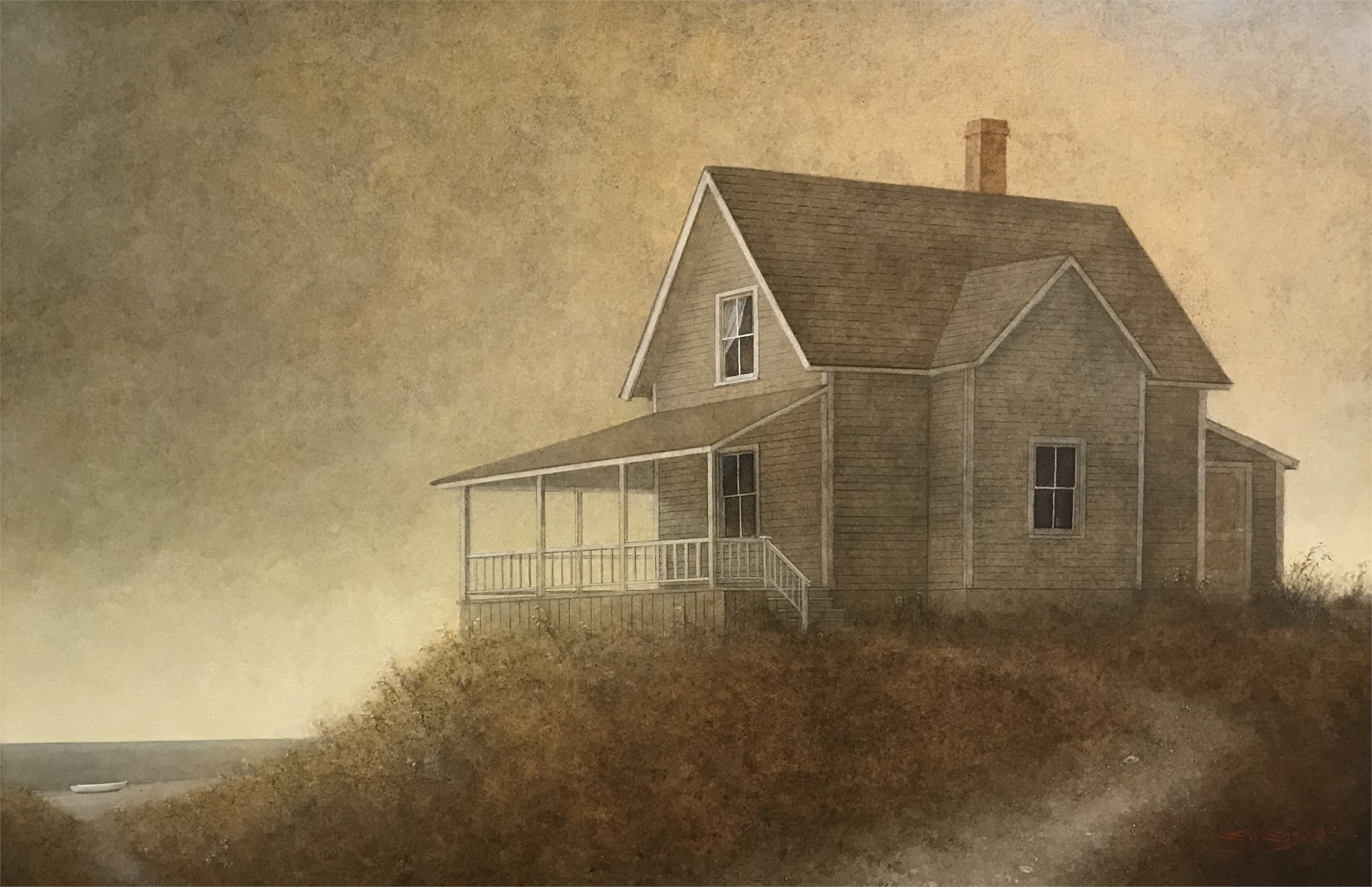 The Visitor by Elizabeth Leary
