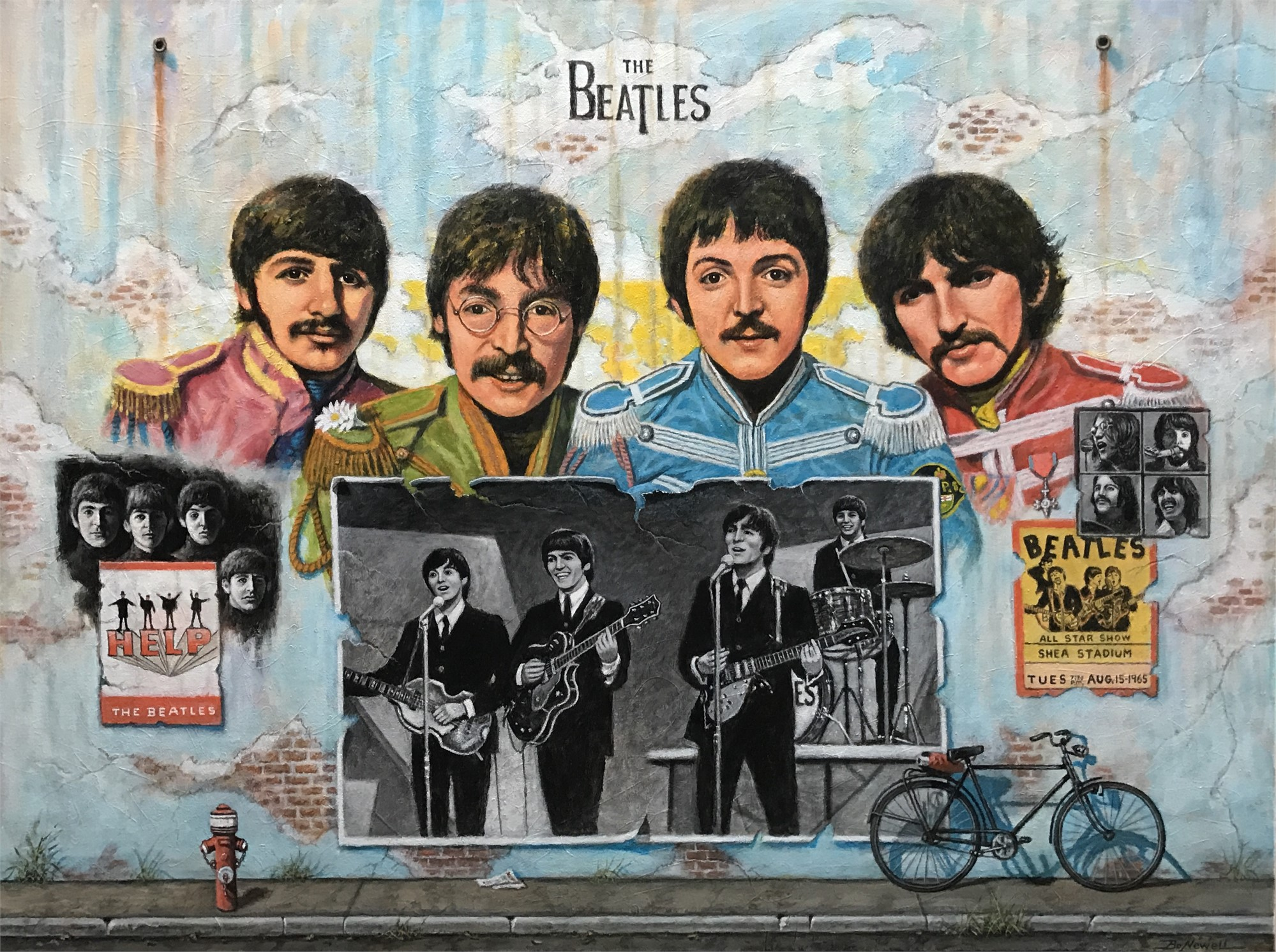 The Beatles by Bo Newell