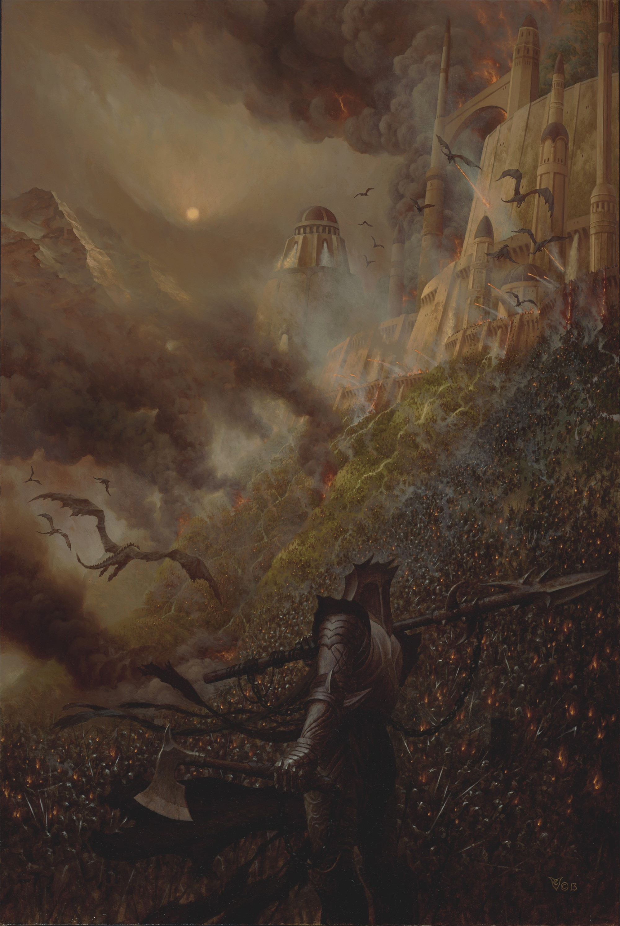 Fall of Loth by Christopher Vacher