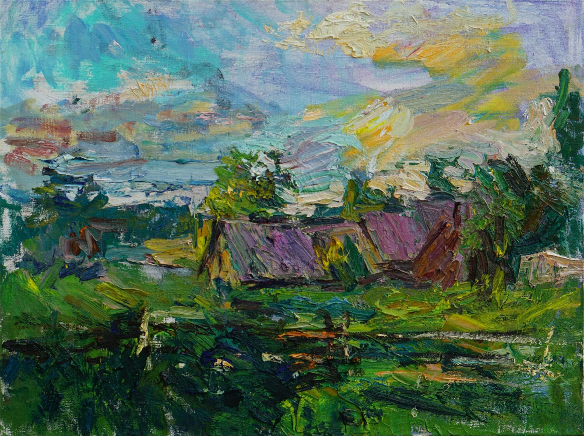 Towards Evening by Ulrich Gleiter