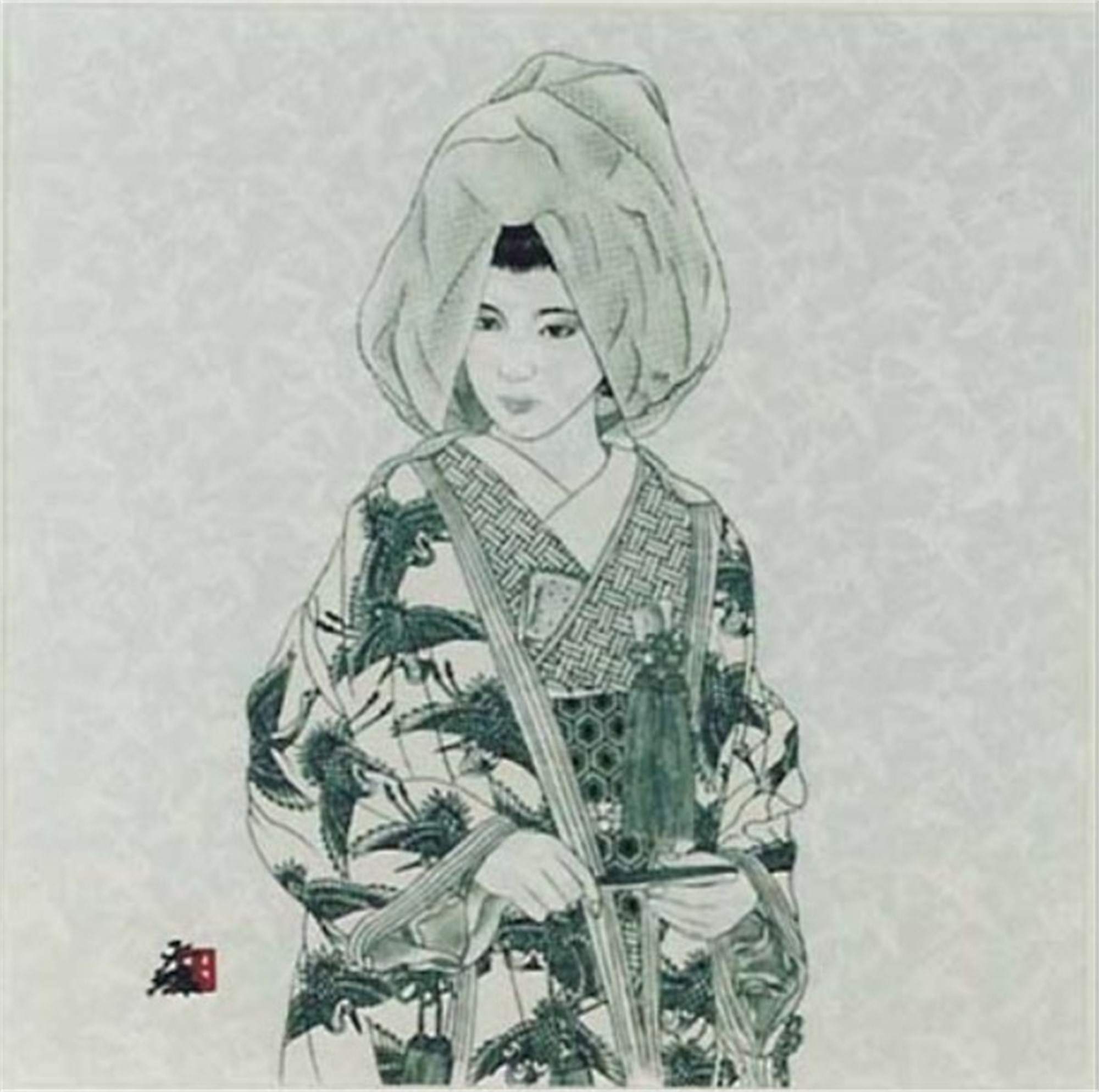 B/W Bride Of Perfection by Hisashi Otsuka