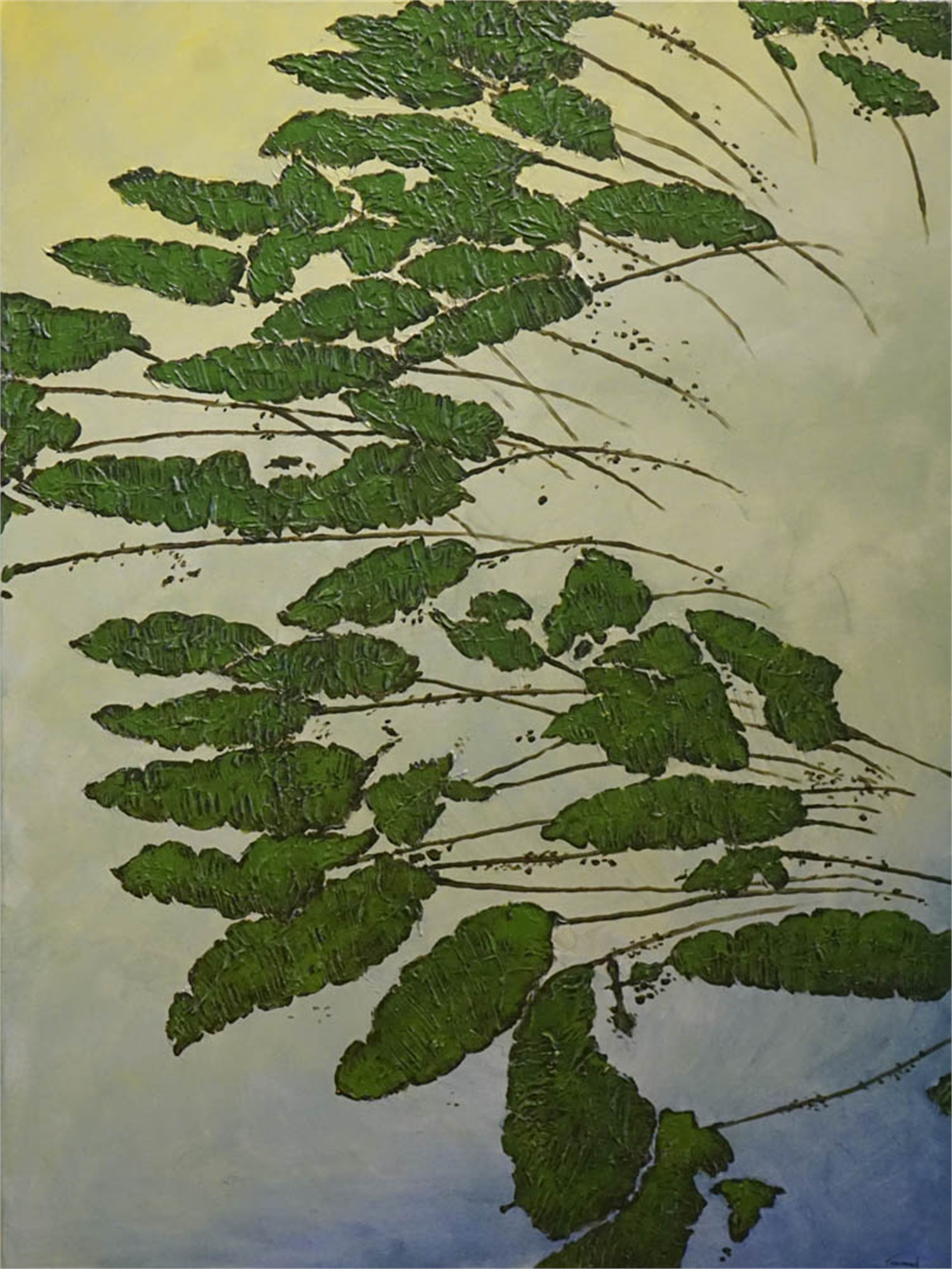Narrow-Leaf Spatterdock by John Townsend