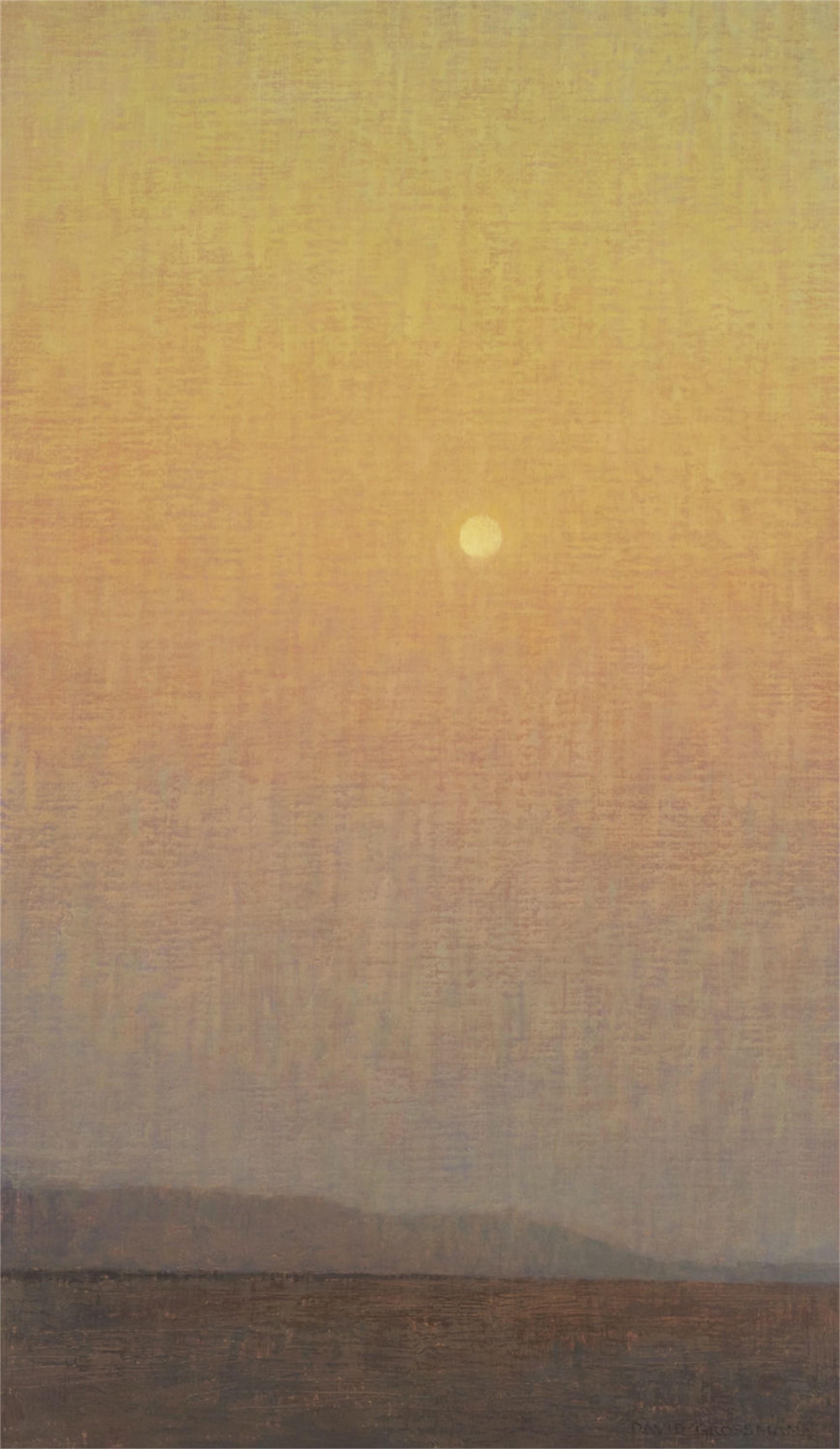Vertical Morning Sky by David Grossmann
