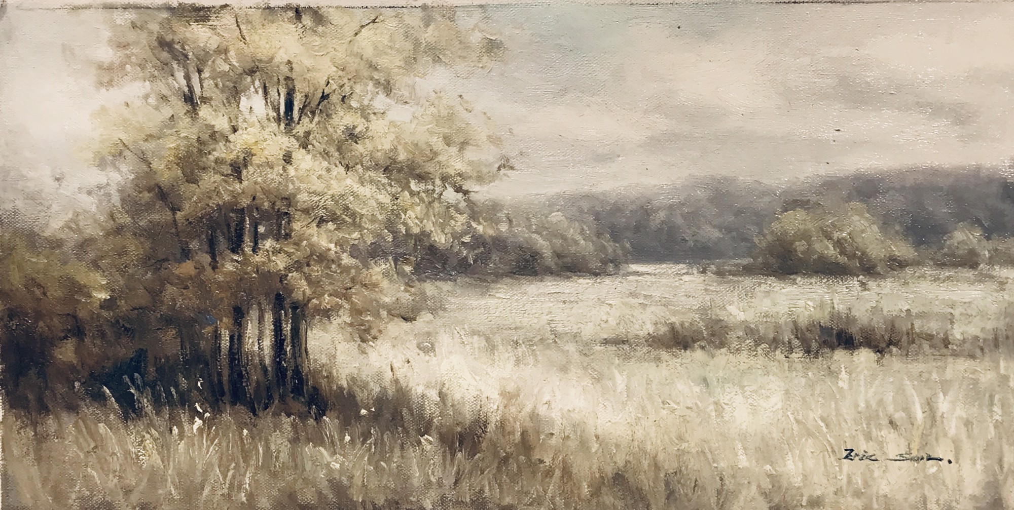 CREAMY DREAMY LANDSCAPE by ERIC SON