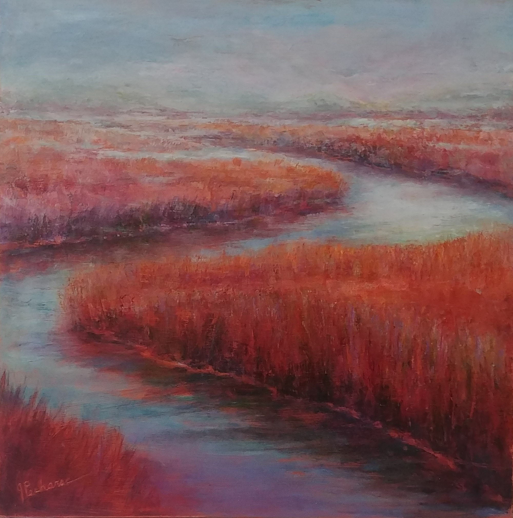 Bayside Morning by Joan Pechanec (McMinnville, OR)