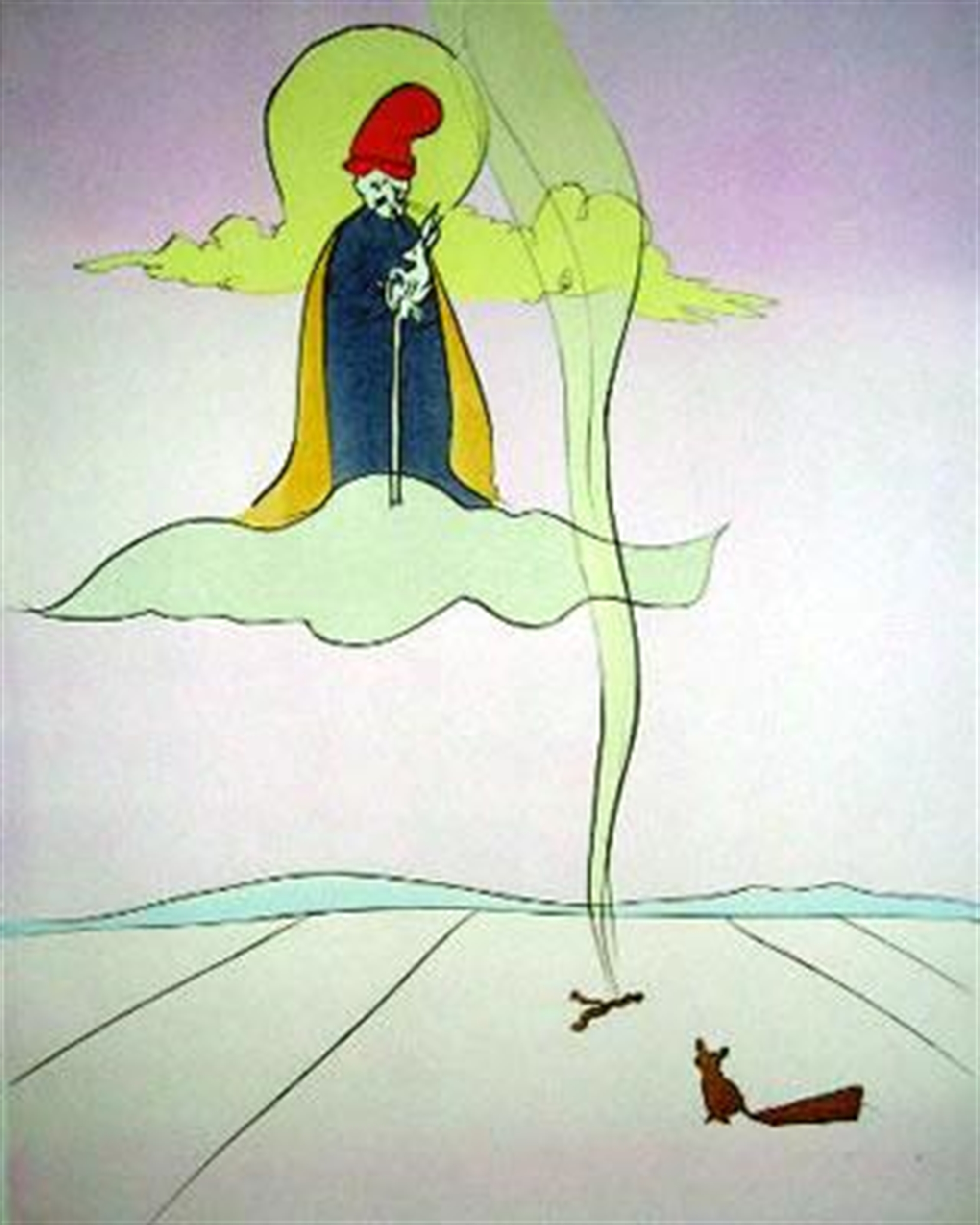 Jugoye (Japanese Fairy Tales, suite of 10) by Salvador Dali