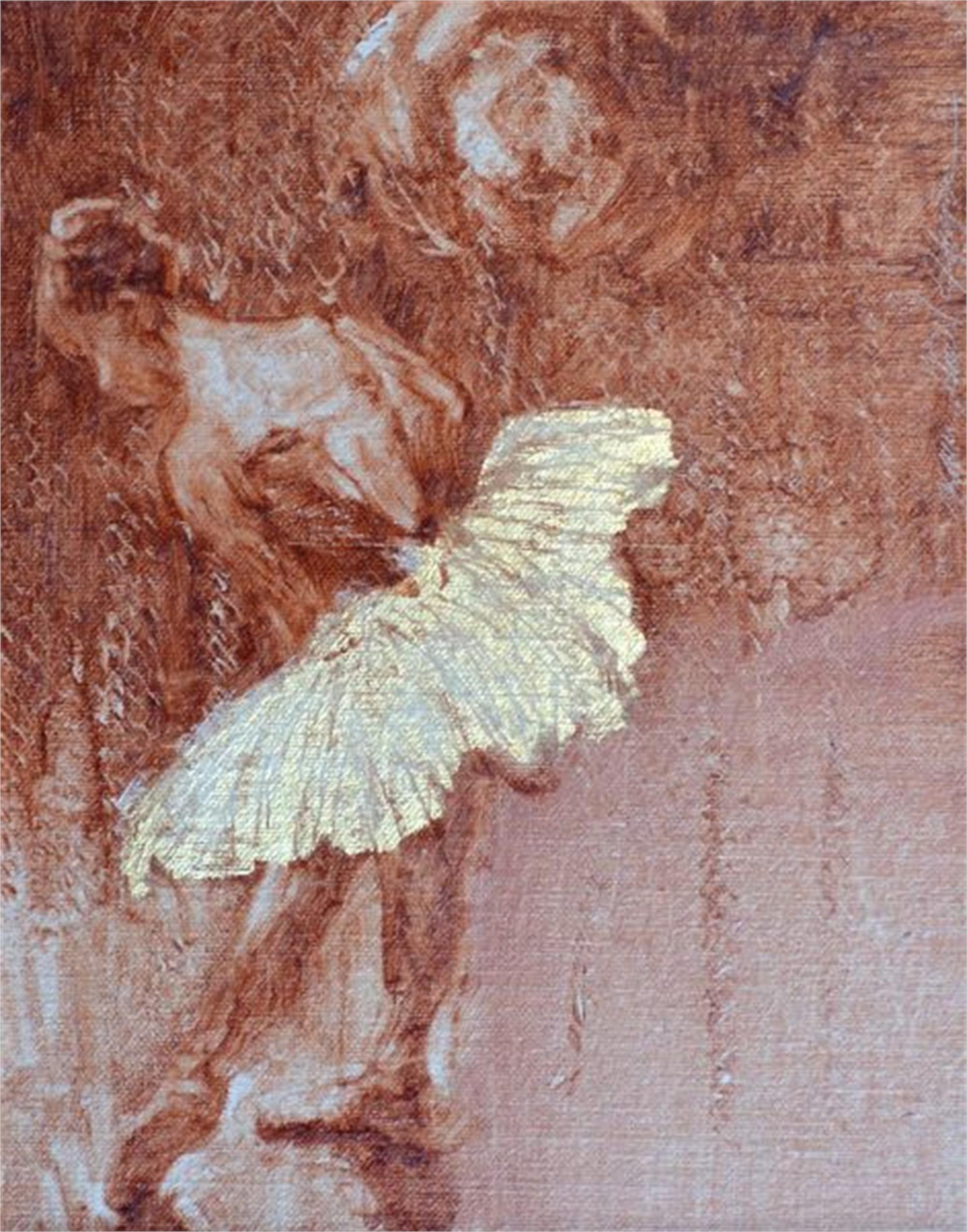 Dancer with Gold Skirt by Karen Hewitt Hagan