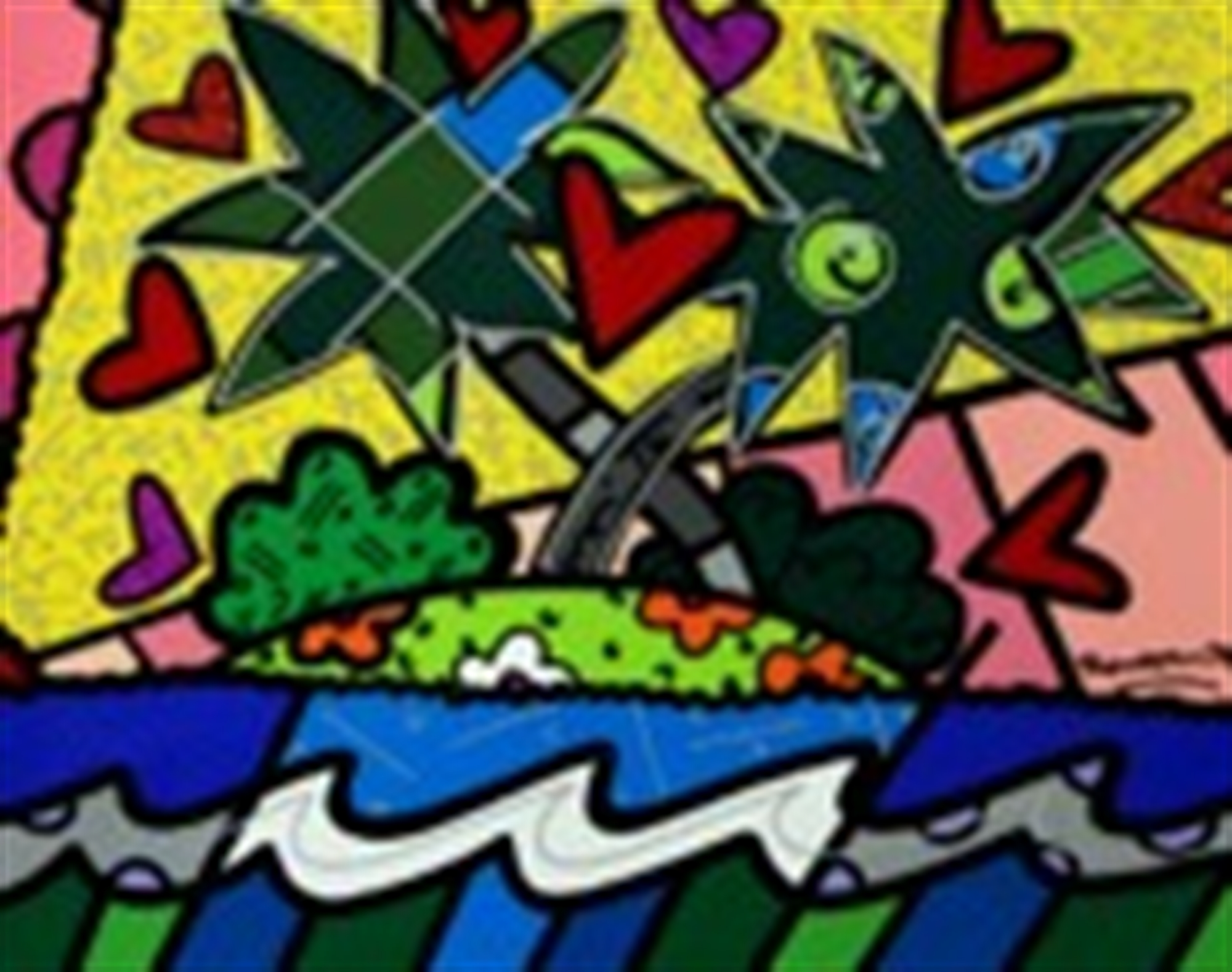 PARADISE by Romero Britto