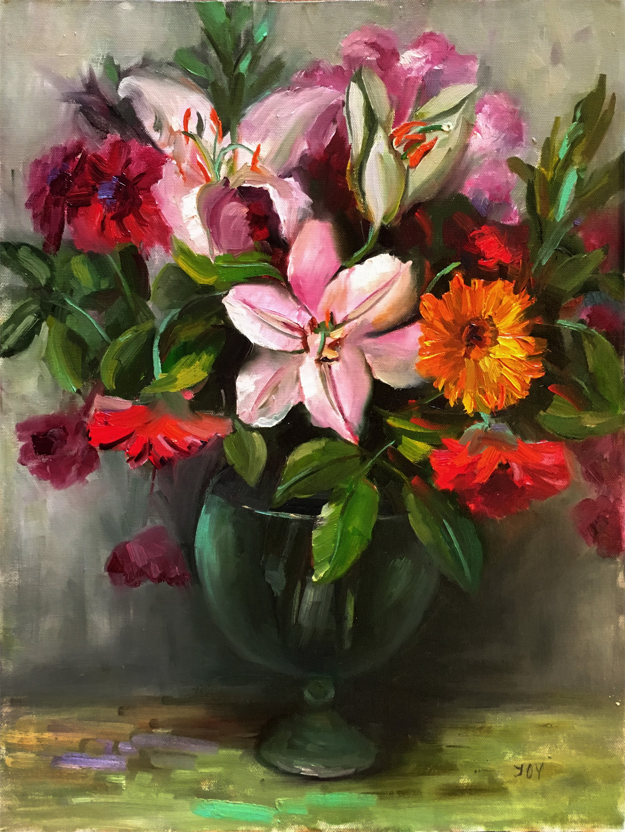 Mixed Flowers by JOY
