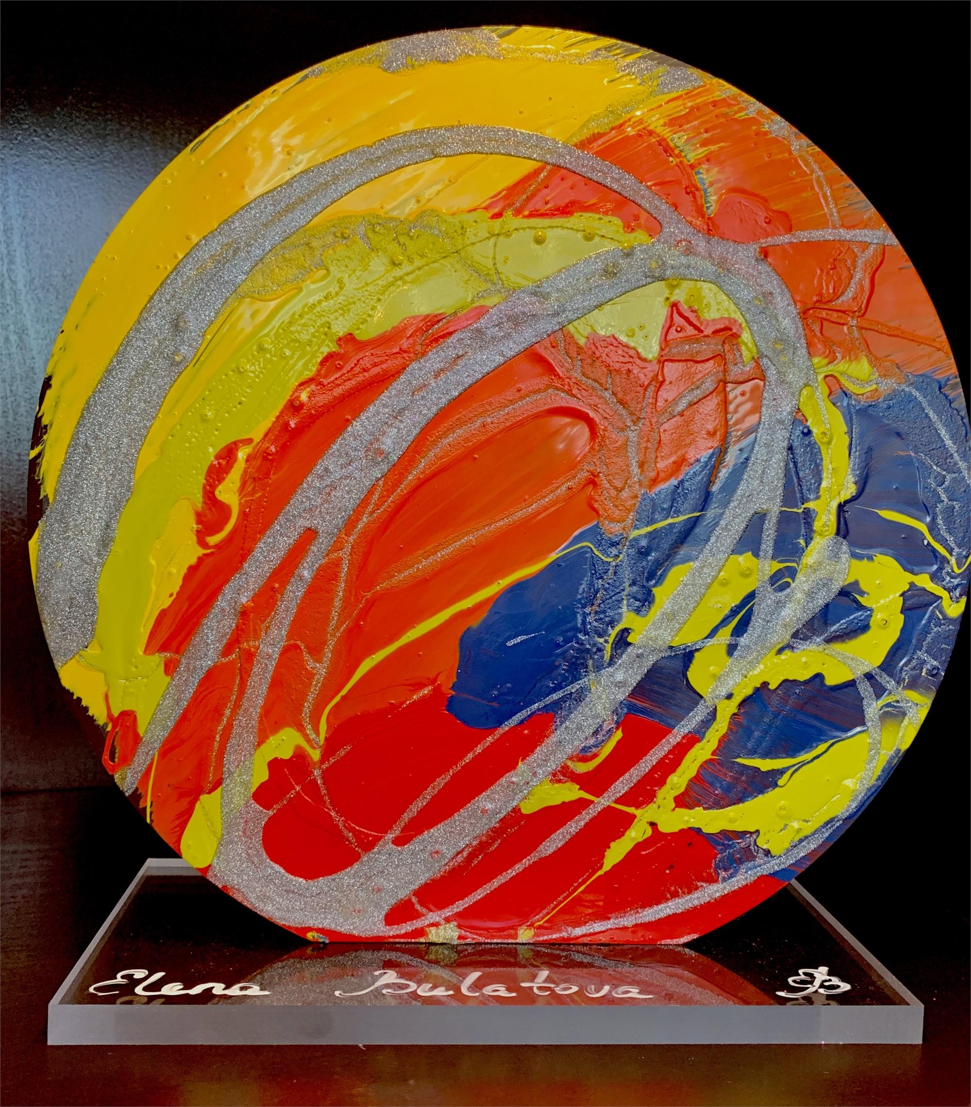 """""""Rounds of Color"""" by Elena Bulatova"""