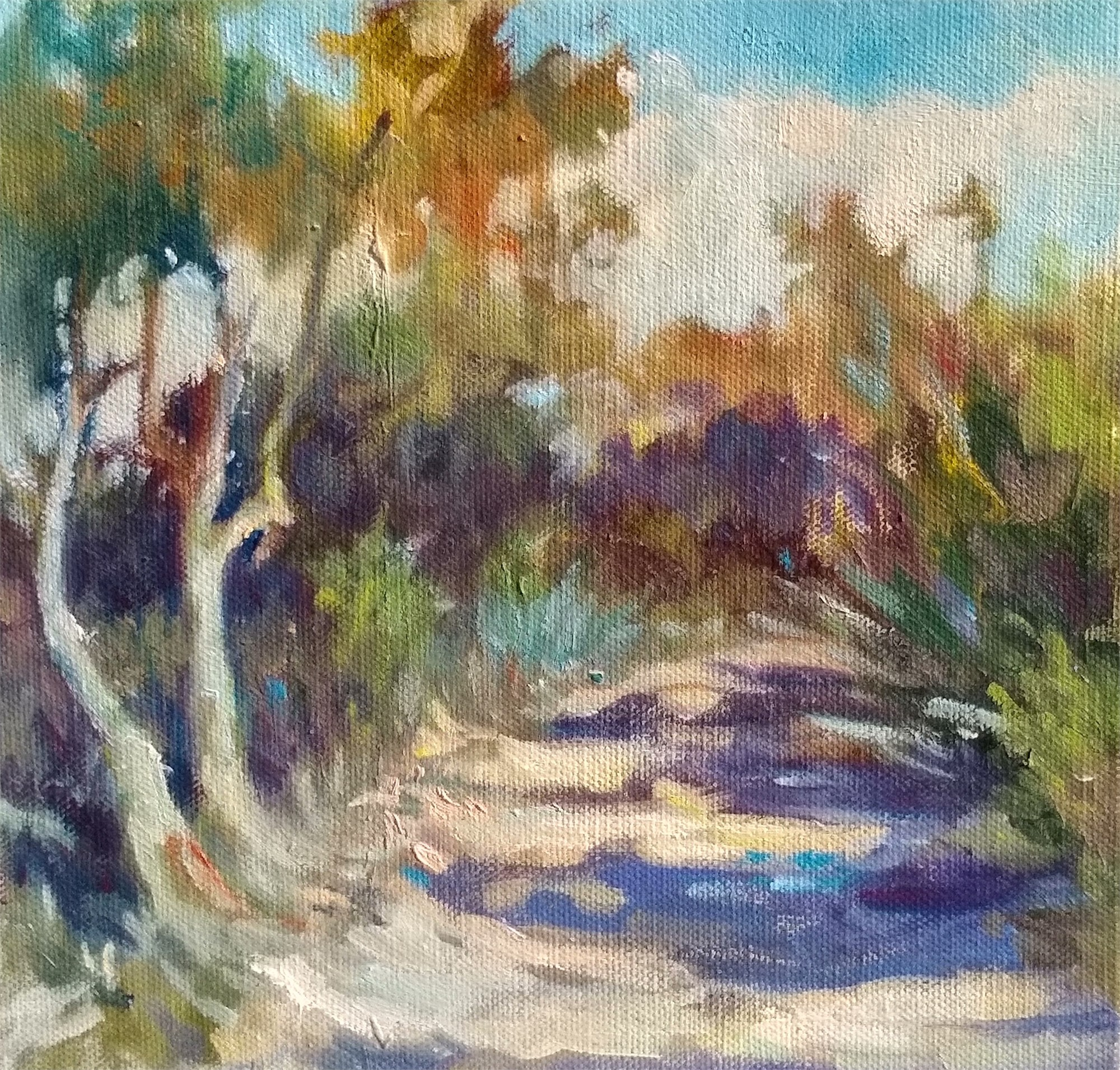 Dewees Island Path by Madeline Dukes