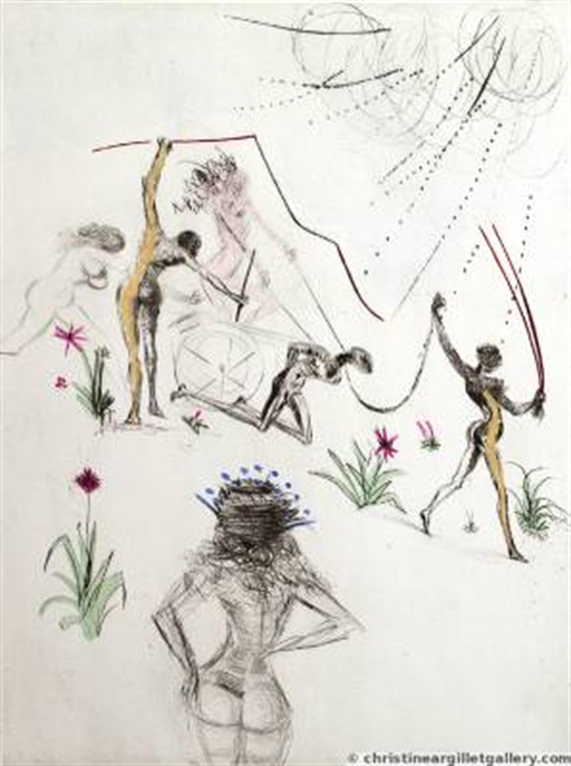 "Venus in Furs ""Negresses"" by Salvador Dali"