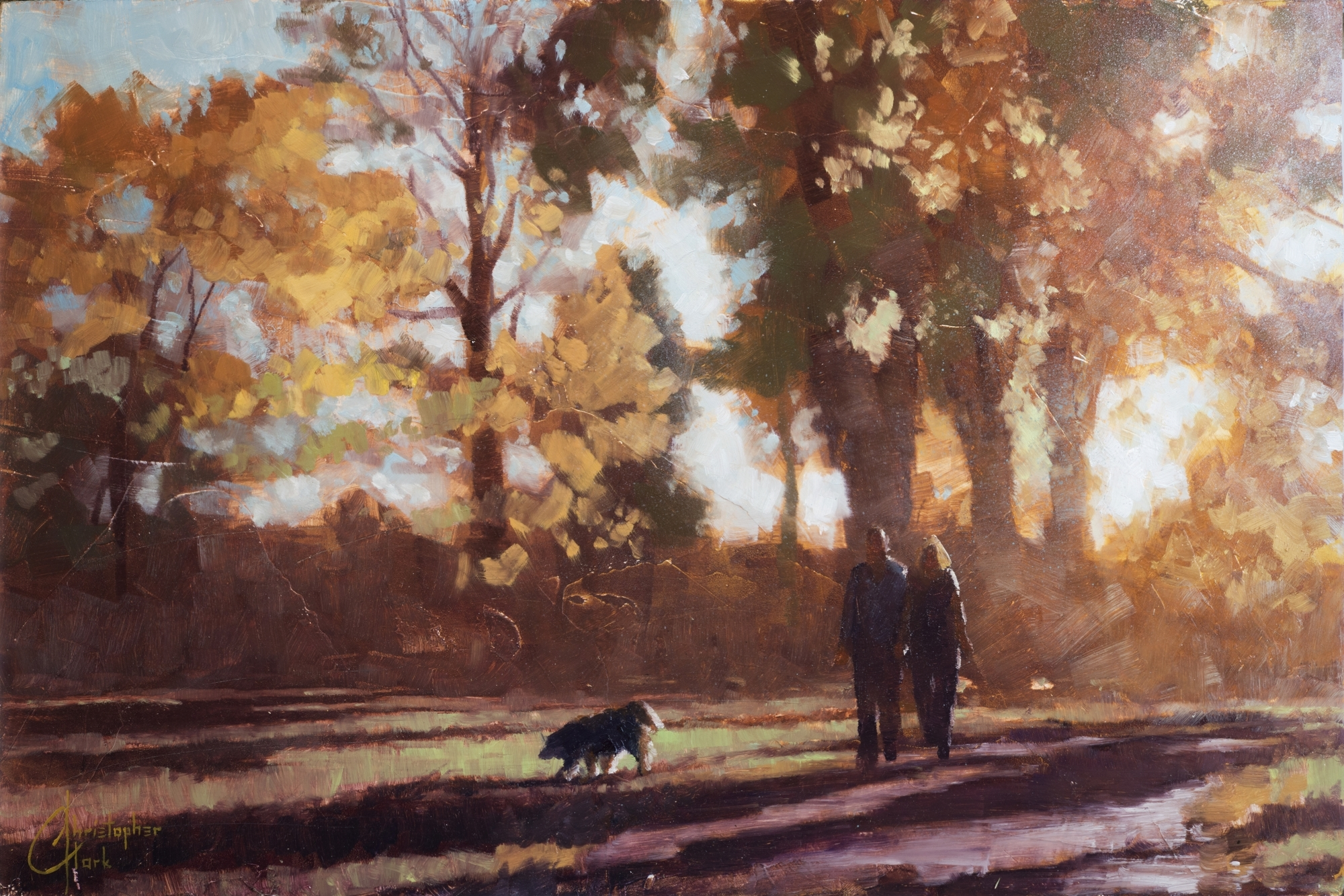Autumn Stroll by Christopher Clark
