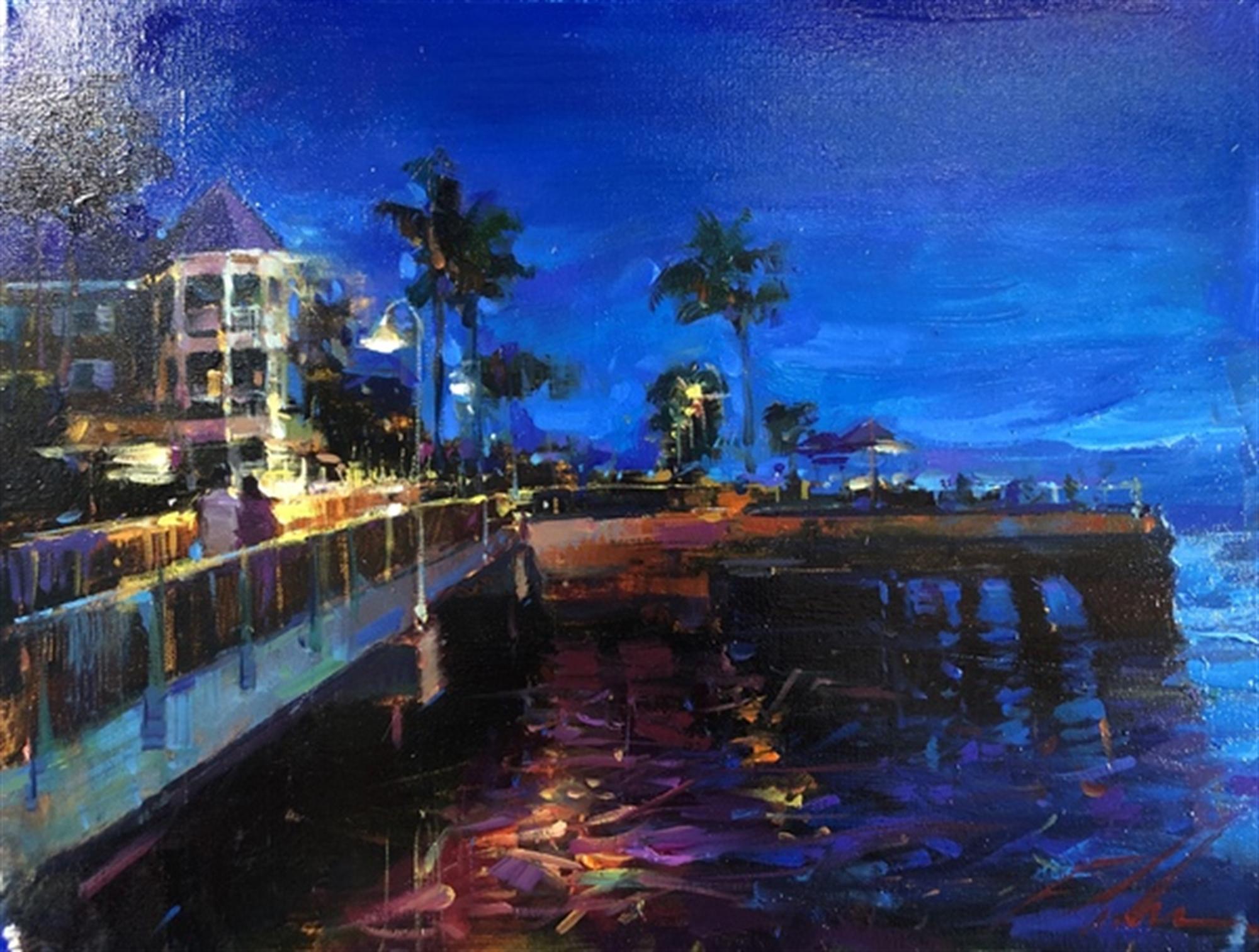 Sunset Pier by Michael Flohr