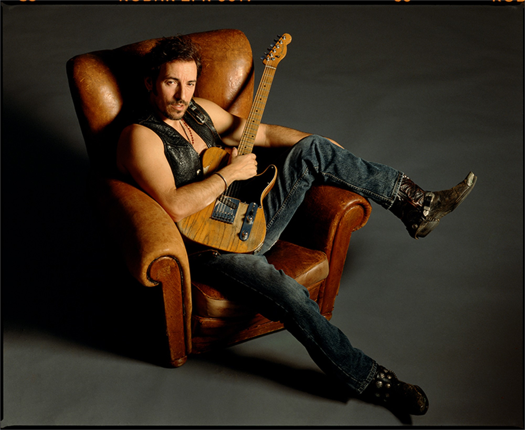 91152 Bruce Springsteen In Chair 1 Color by Timothy White