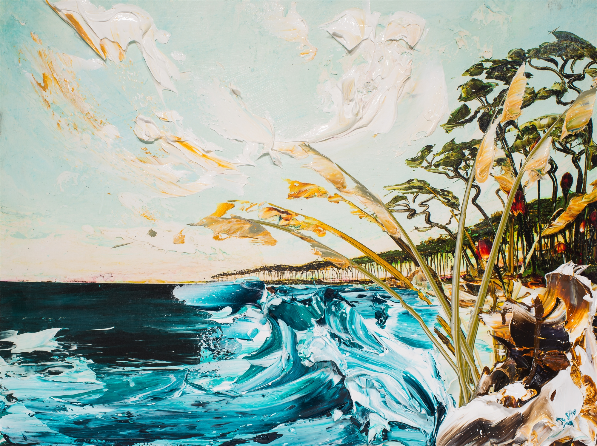 SEASCAPE HPAE 13/50 by Justin Gaffrey