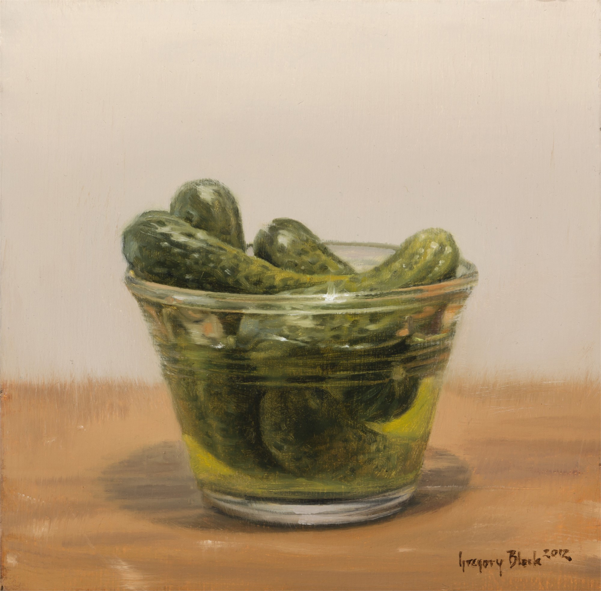 Pickles and Dish by Gregory Block