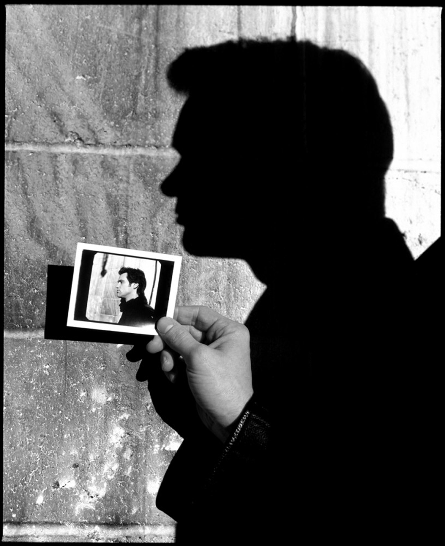 98012 Jim Carrey Polaroid BW by Timothy White