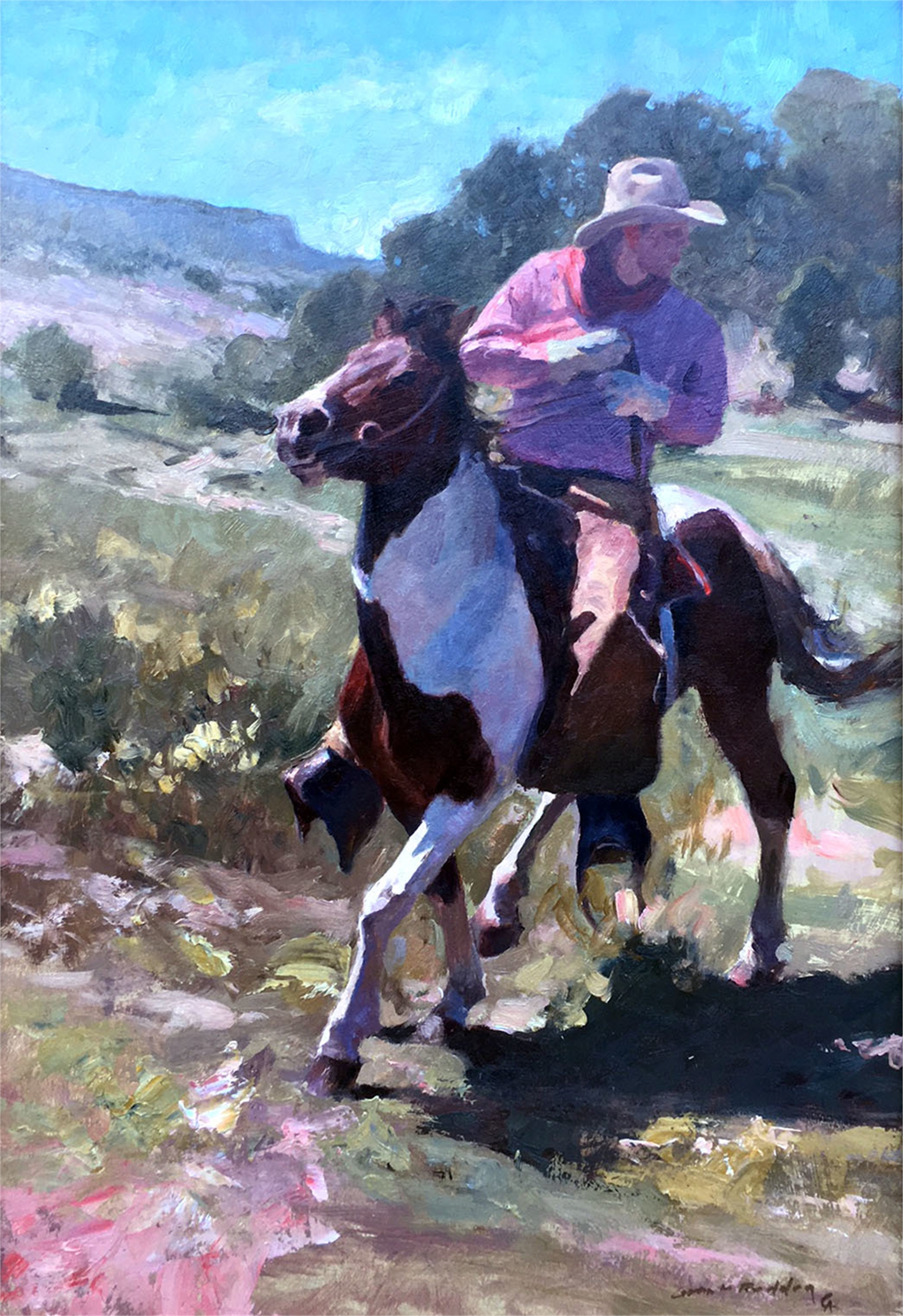 The Paint Horse by Grant Redden