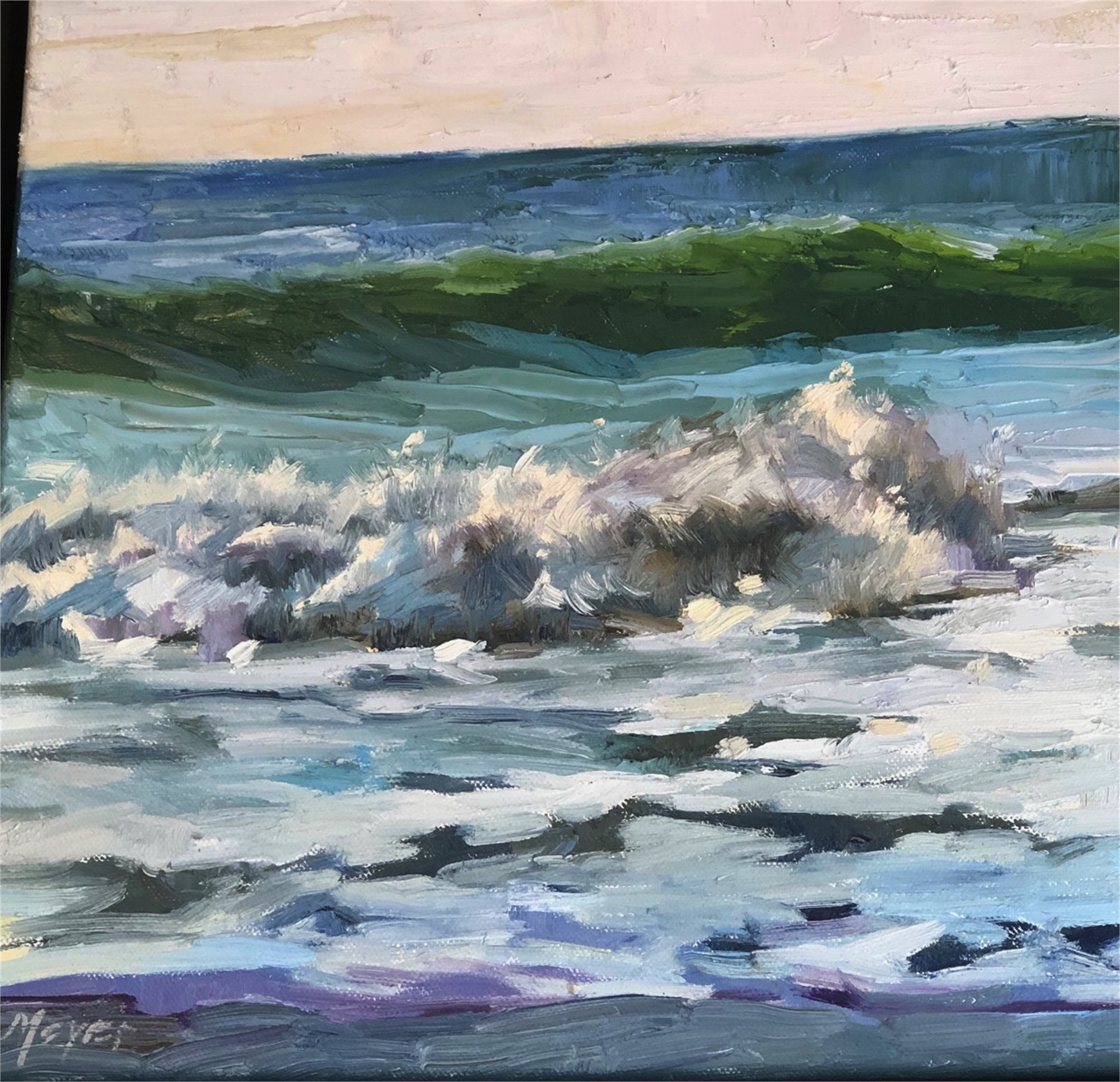 Making Waves IV by Laurie Meyer