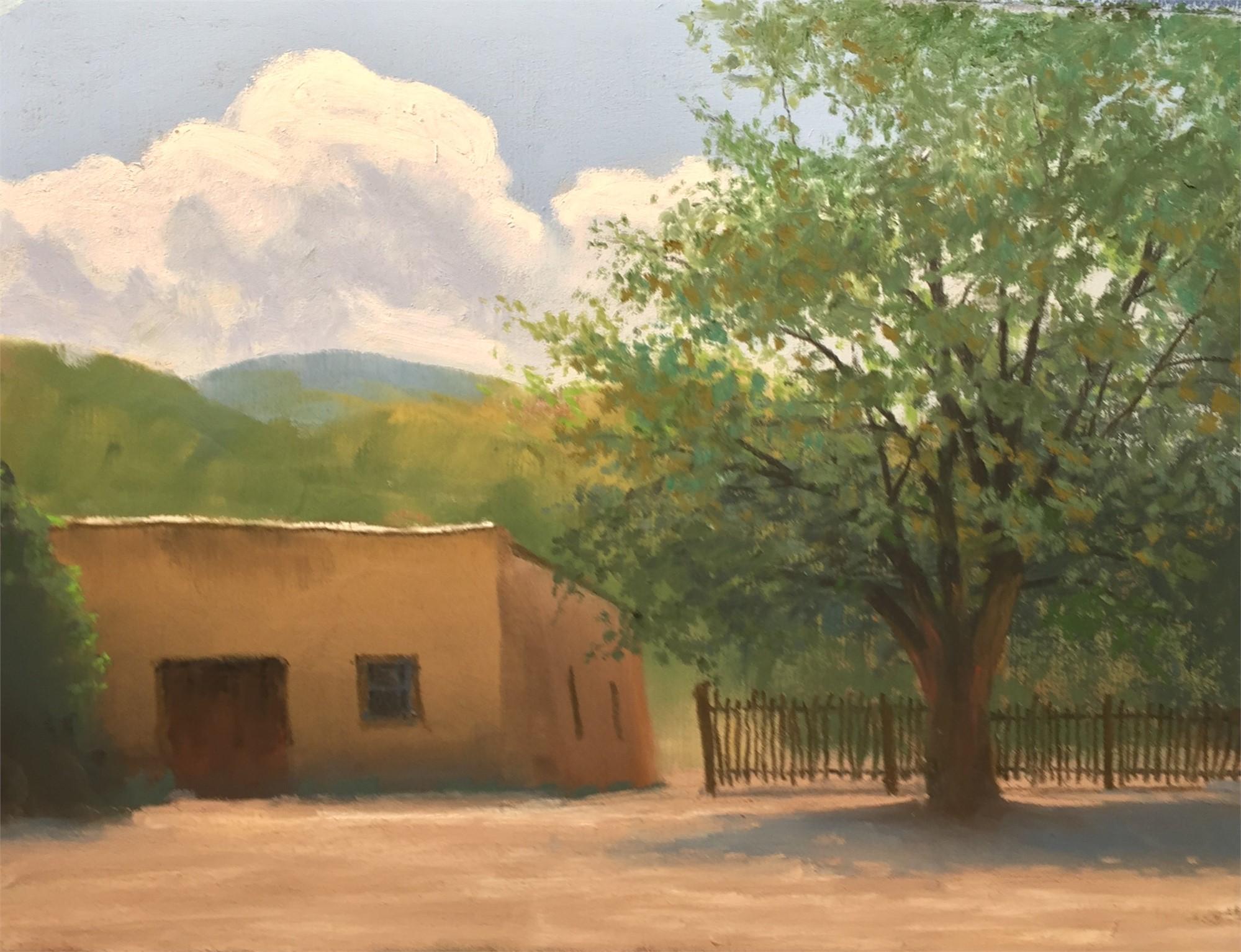 Church Yard by John Roush