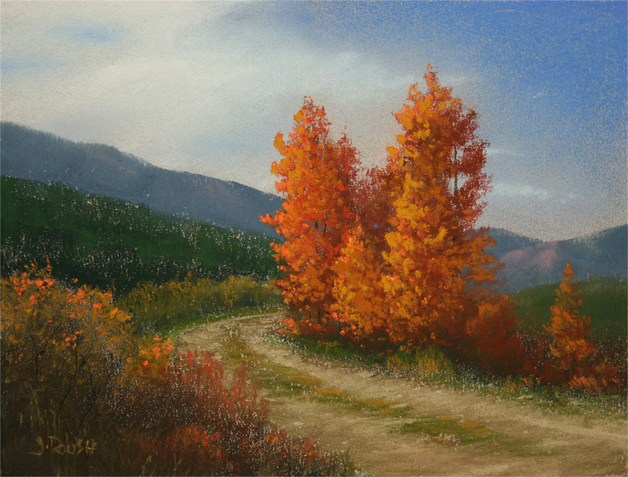 Old Mine Road by John Roush