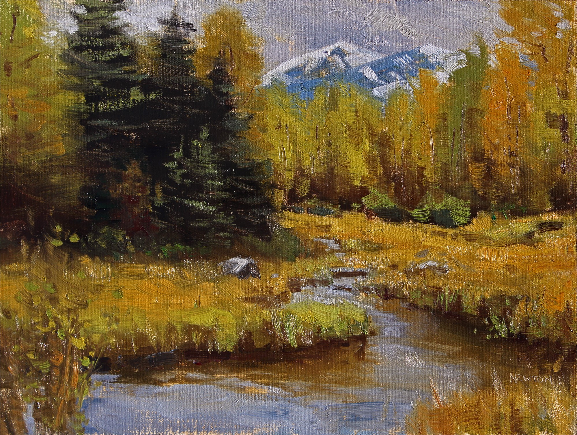 Touch of Autumn by Wes Newton
