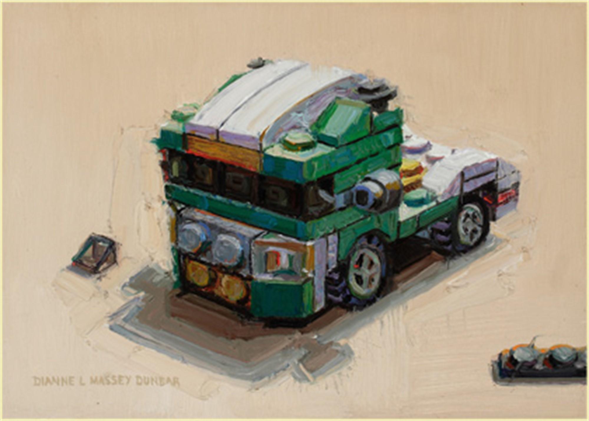 Semi Tractor by Dianne L Massey Dunbar