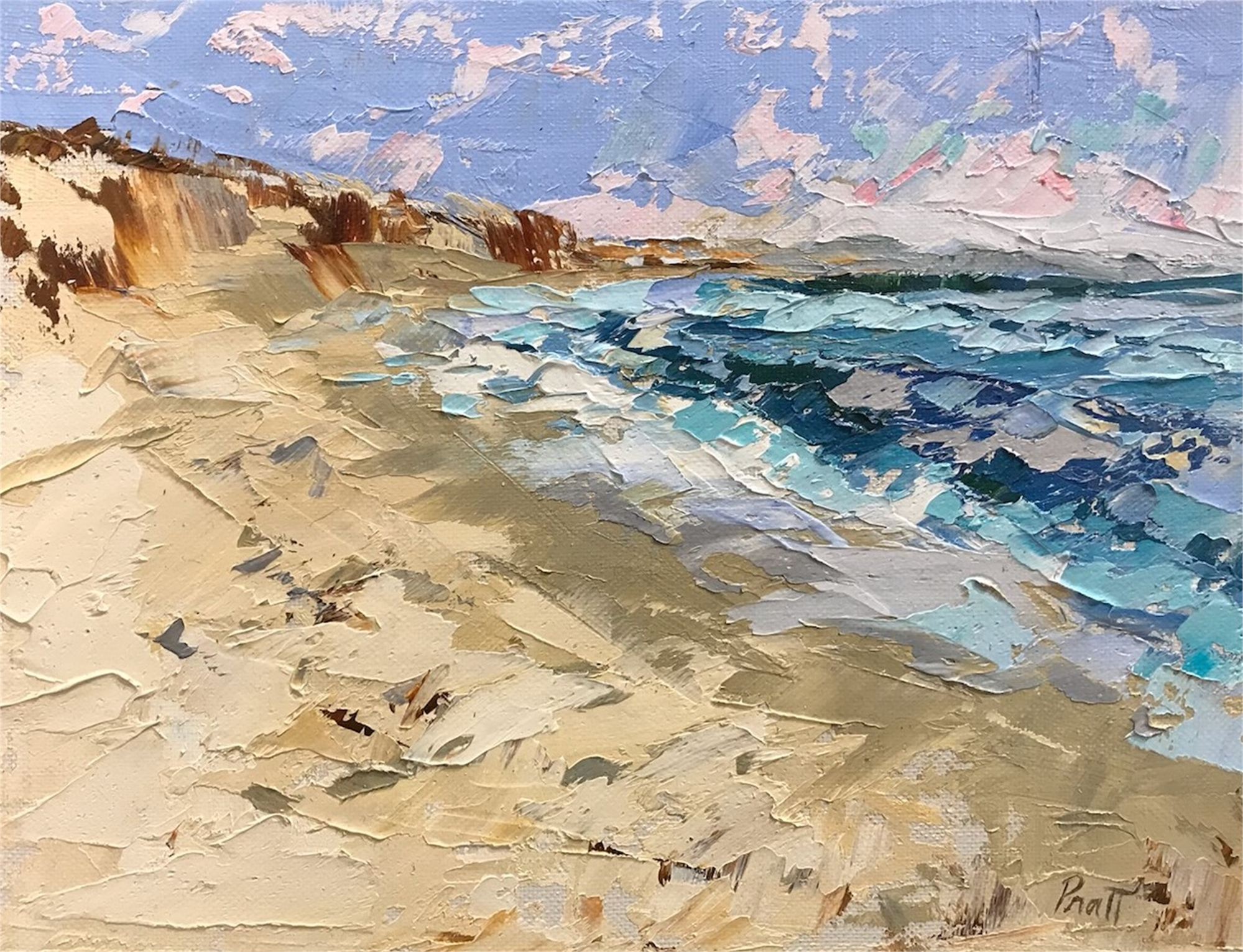 Ocean View by Sandra Pratt